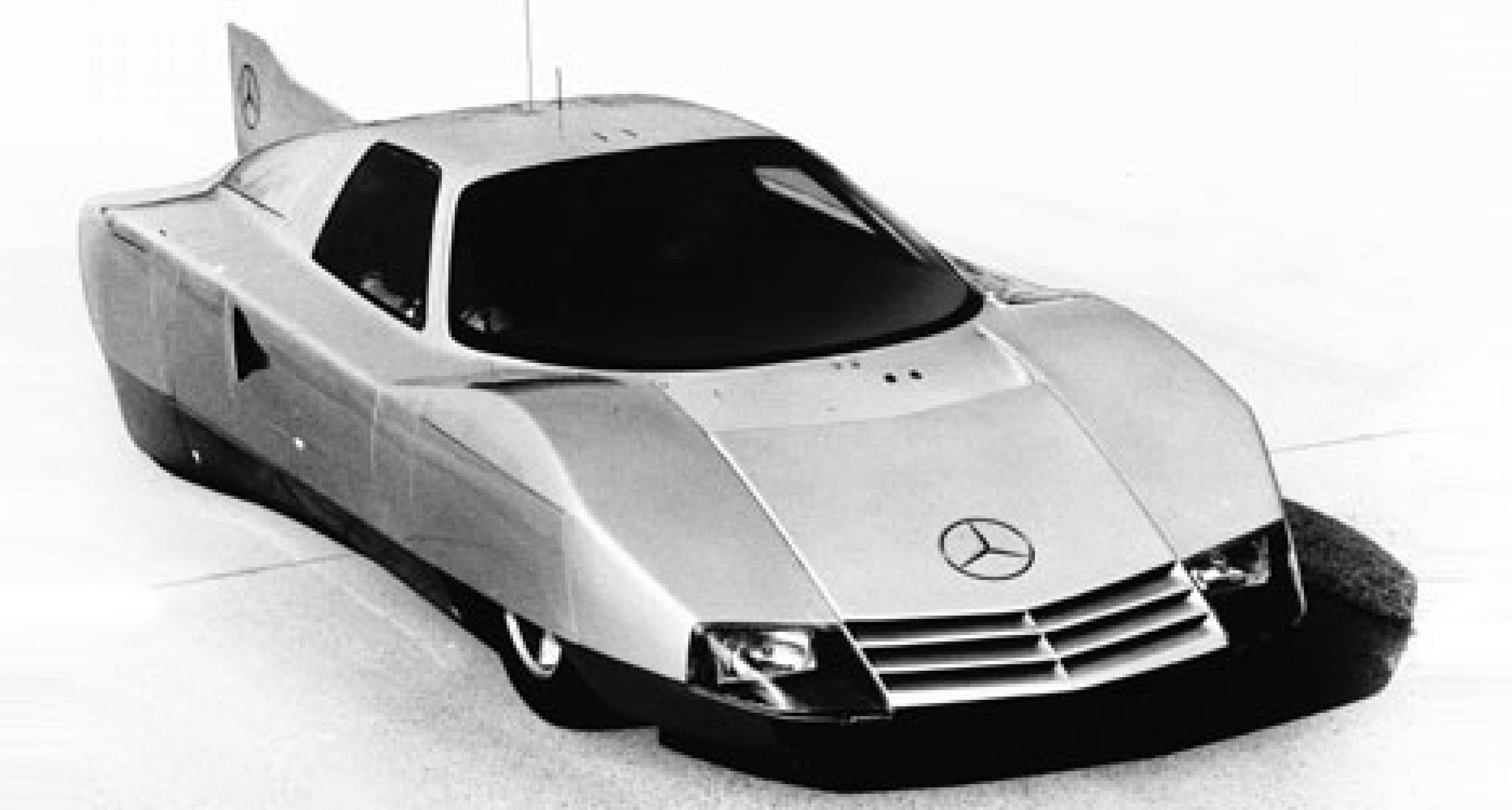 Mercedes C111 Diesel World Record Holder - 25 years on