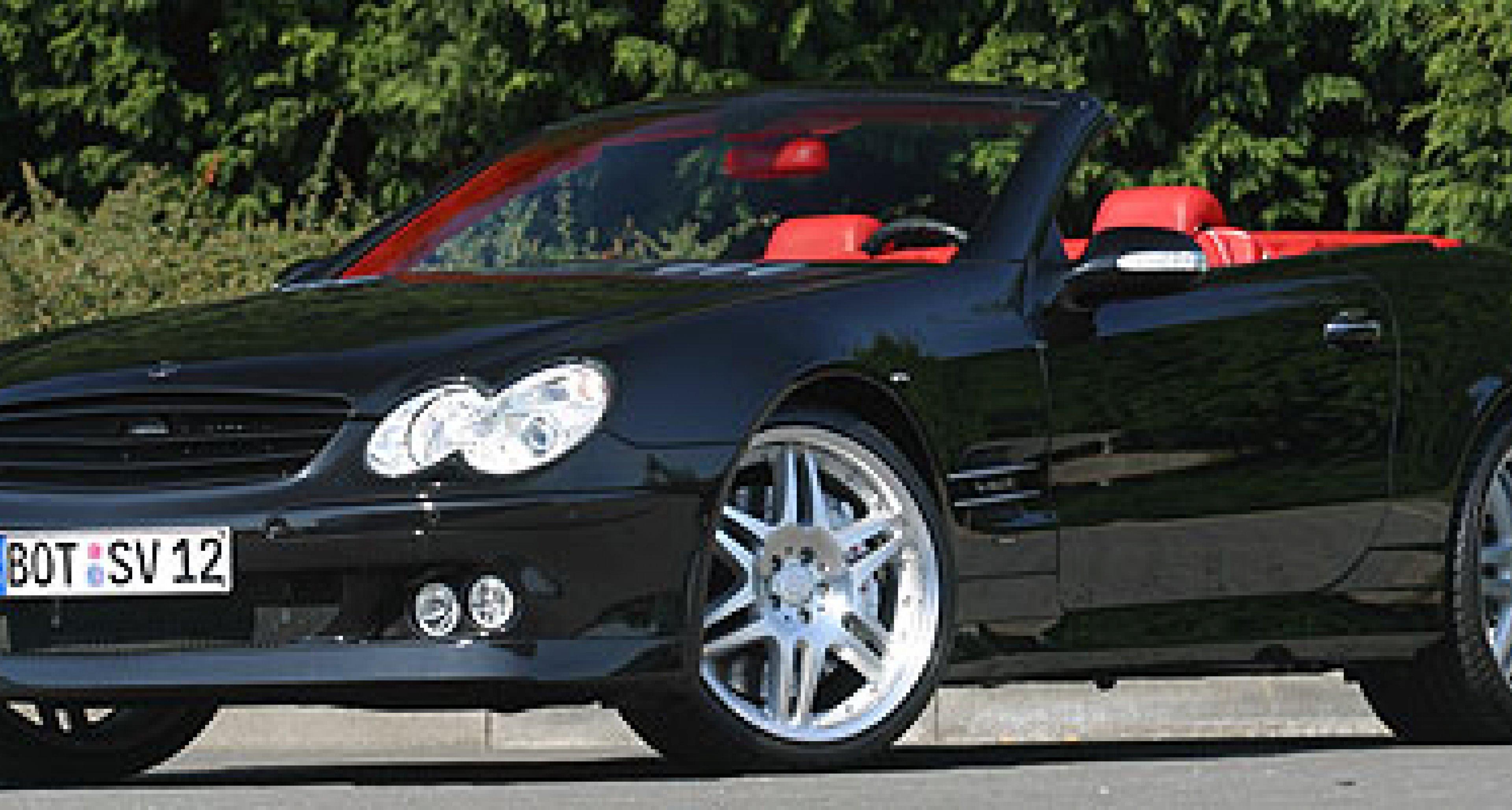 Brabus announce 640bhp Mercedes-Benz SV12