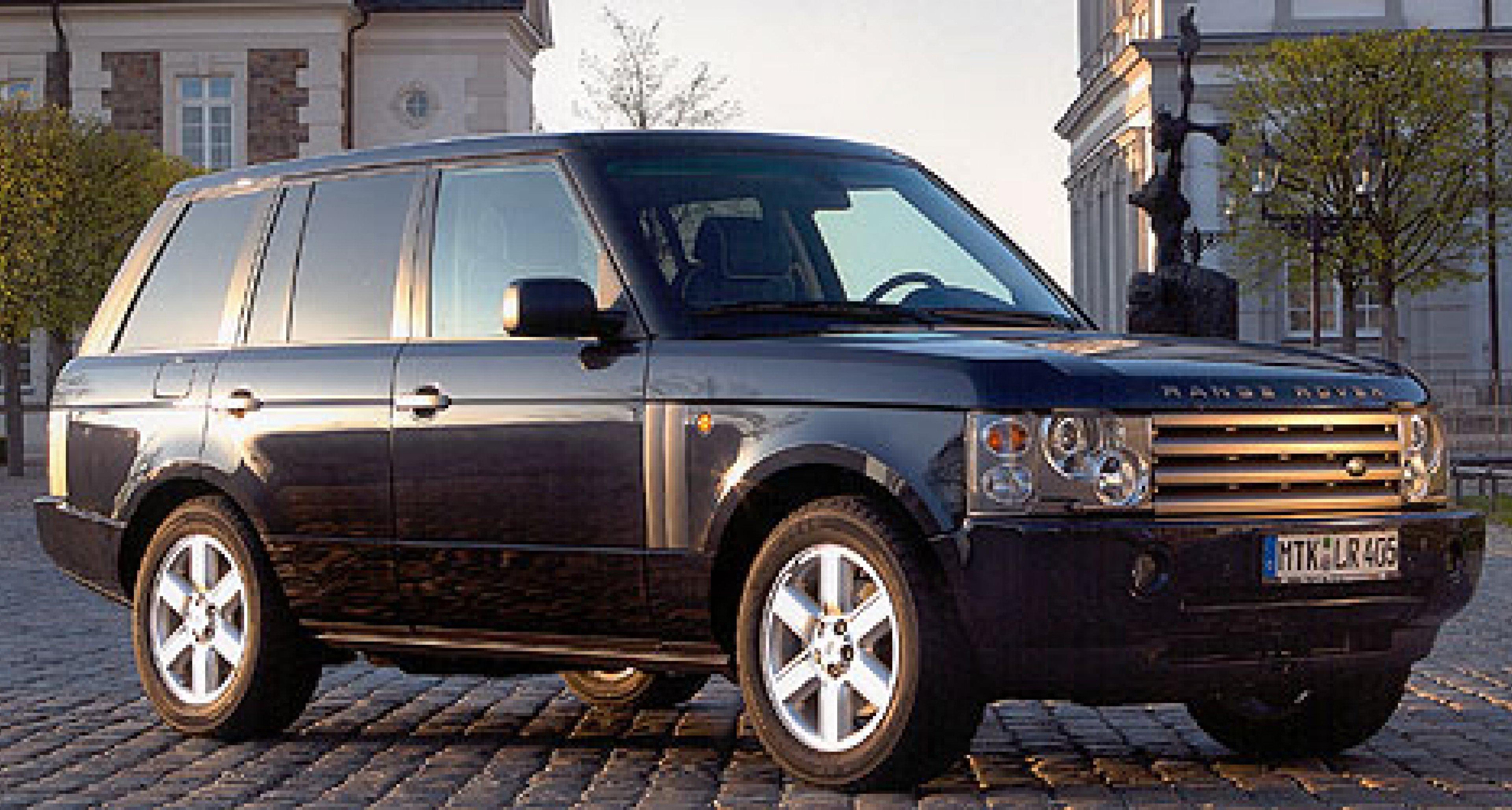 Range Rover Vogue: Luxusausführung