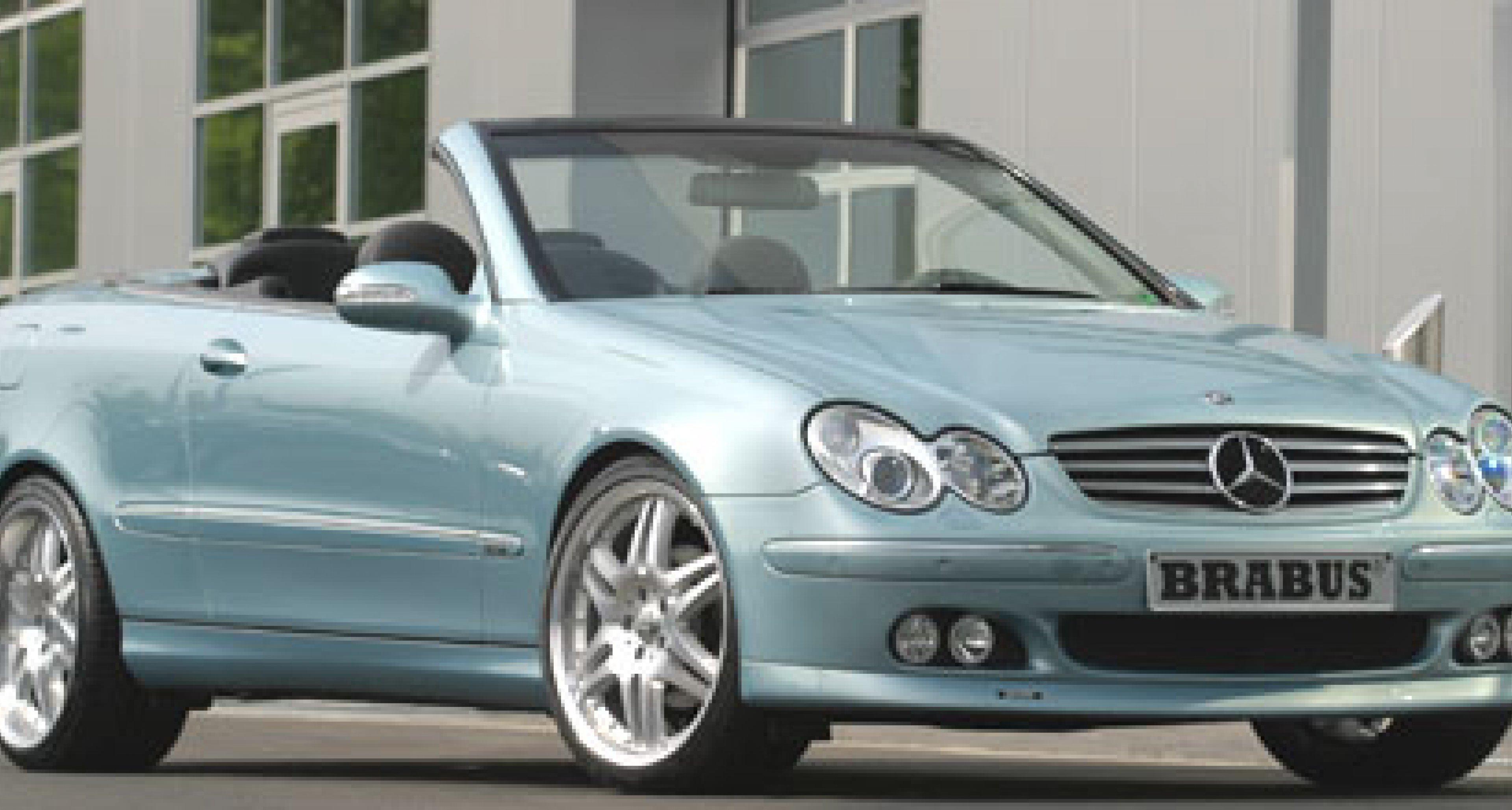 Brabus 6.1: Leistungspaket für das CLK Cabriolet