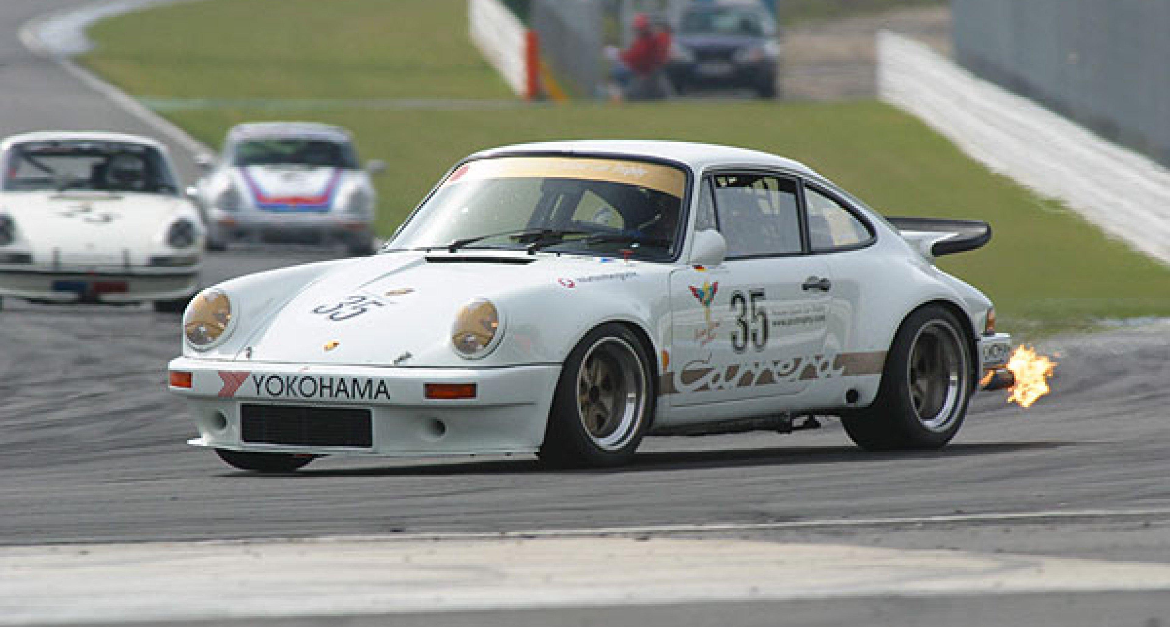 """Porsche Classic Car Trophy 2003 auf dem """"Circuit de Spa-Francorchamps"""""""