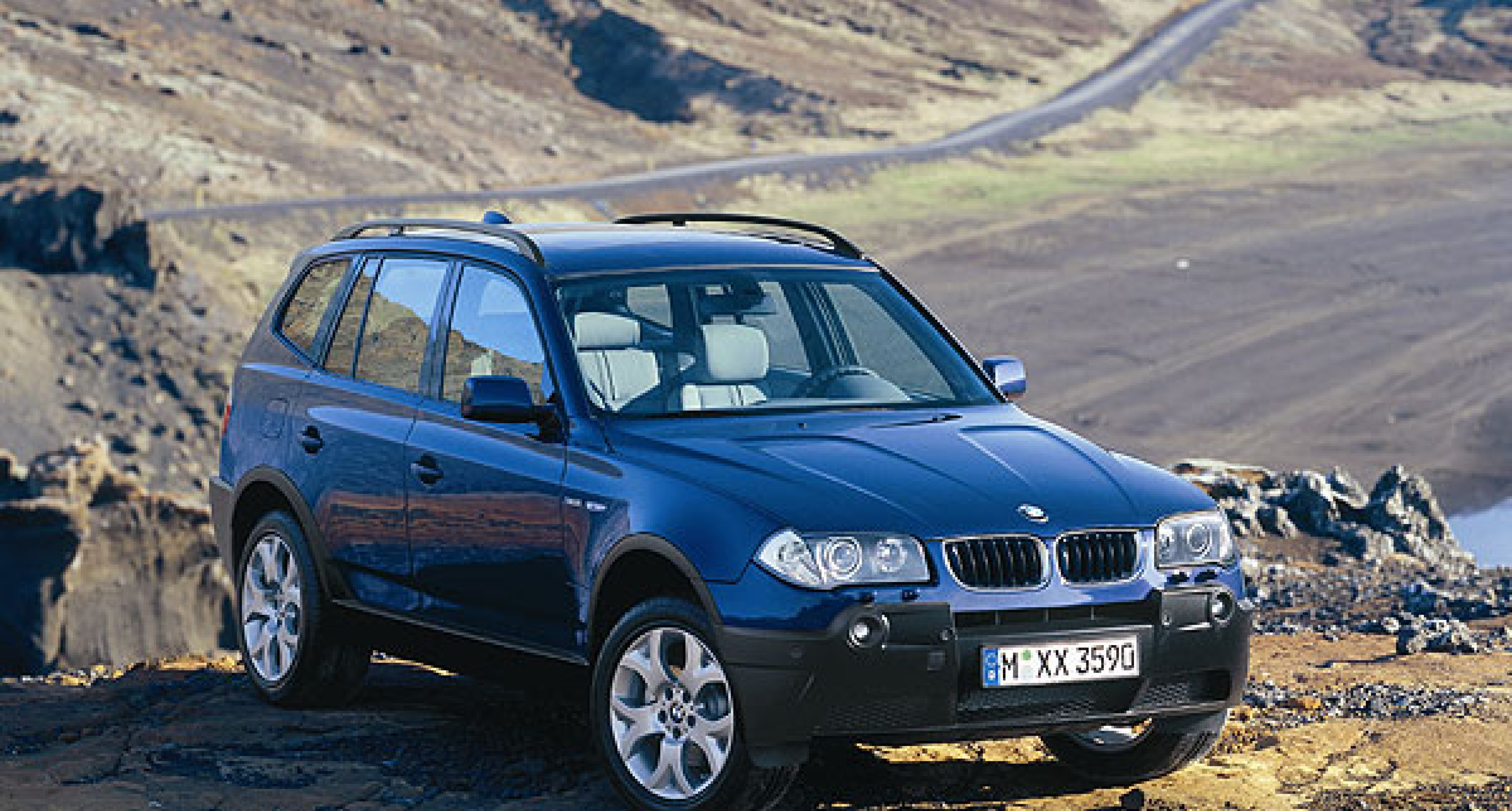 BMW X3: Ab Anfang 2004 erhältlich