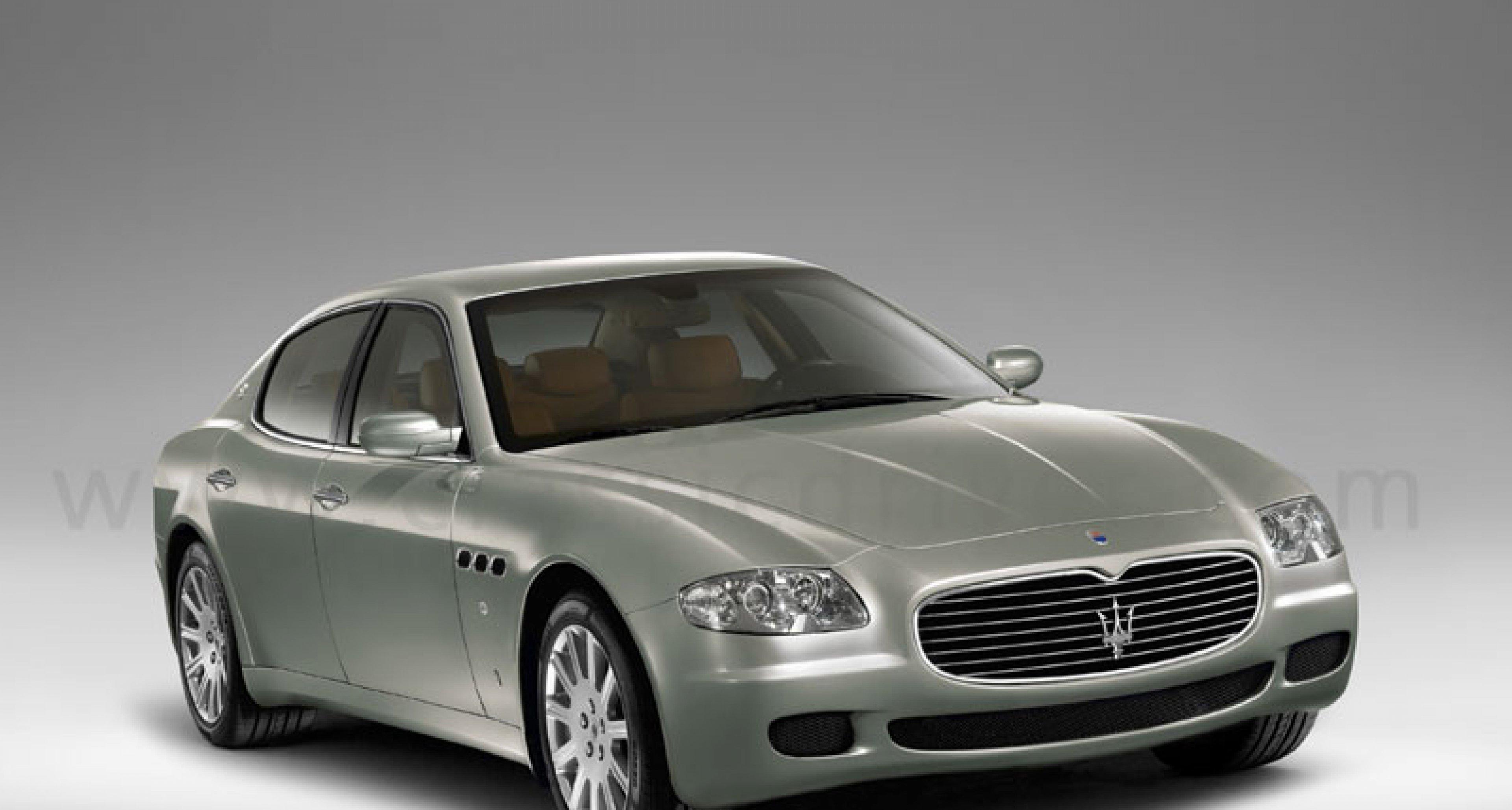 Maserati Quattroporte: Erste Bilder