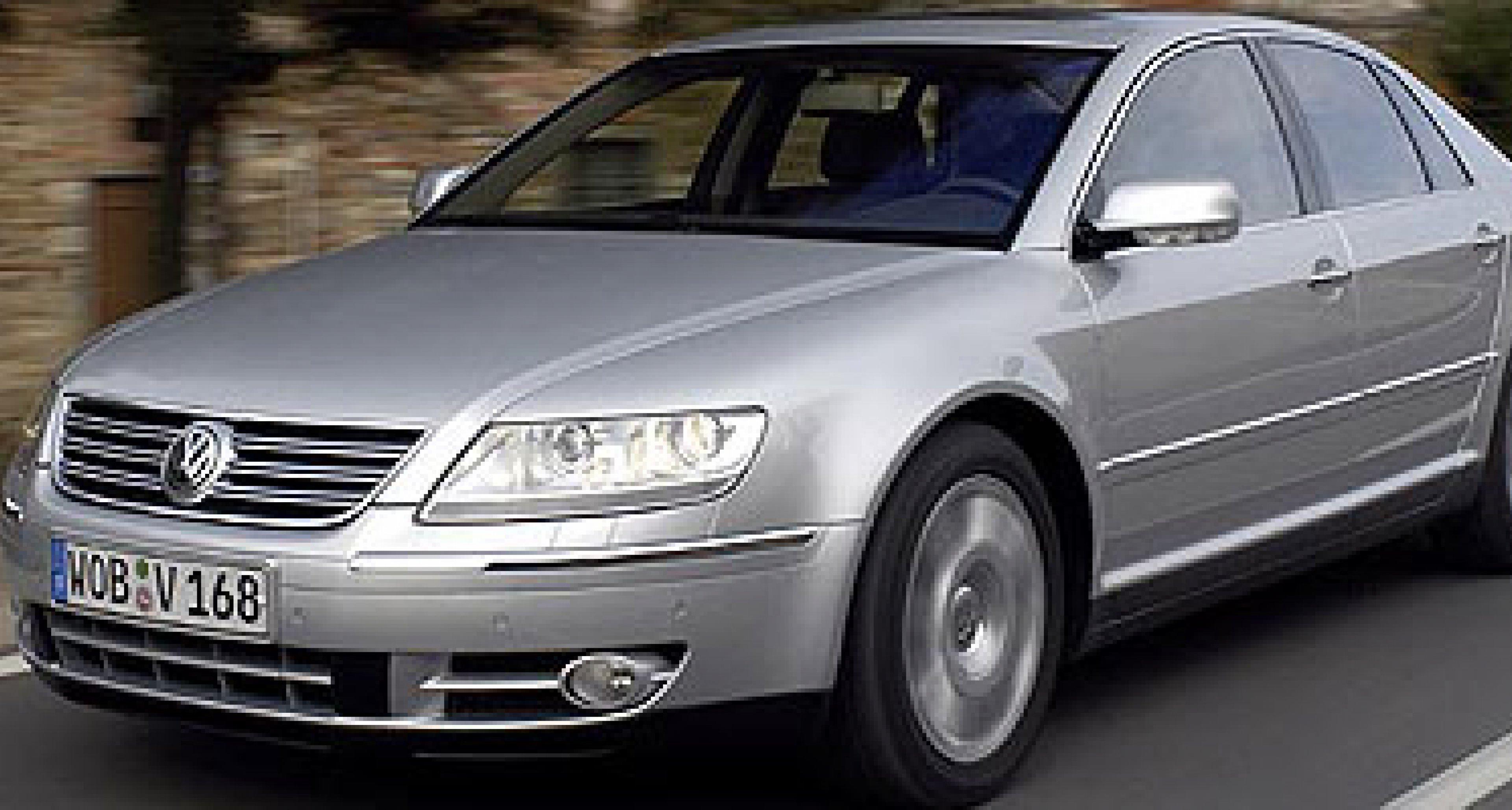 Volkswagen Phaeton: Jetzt auch mit V8-Motor