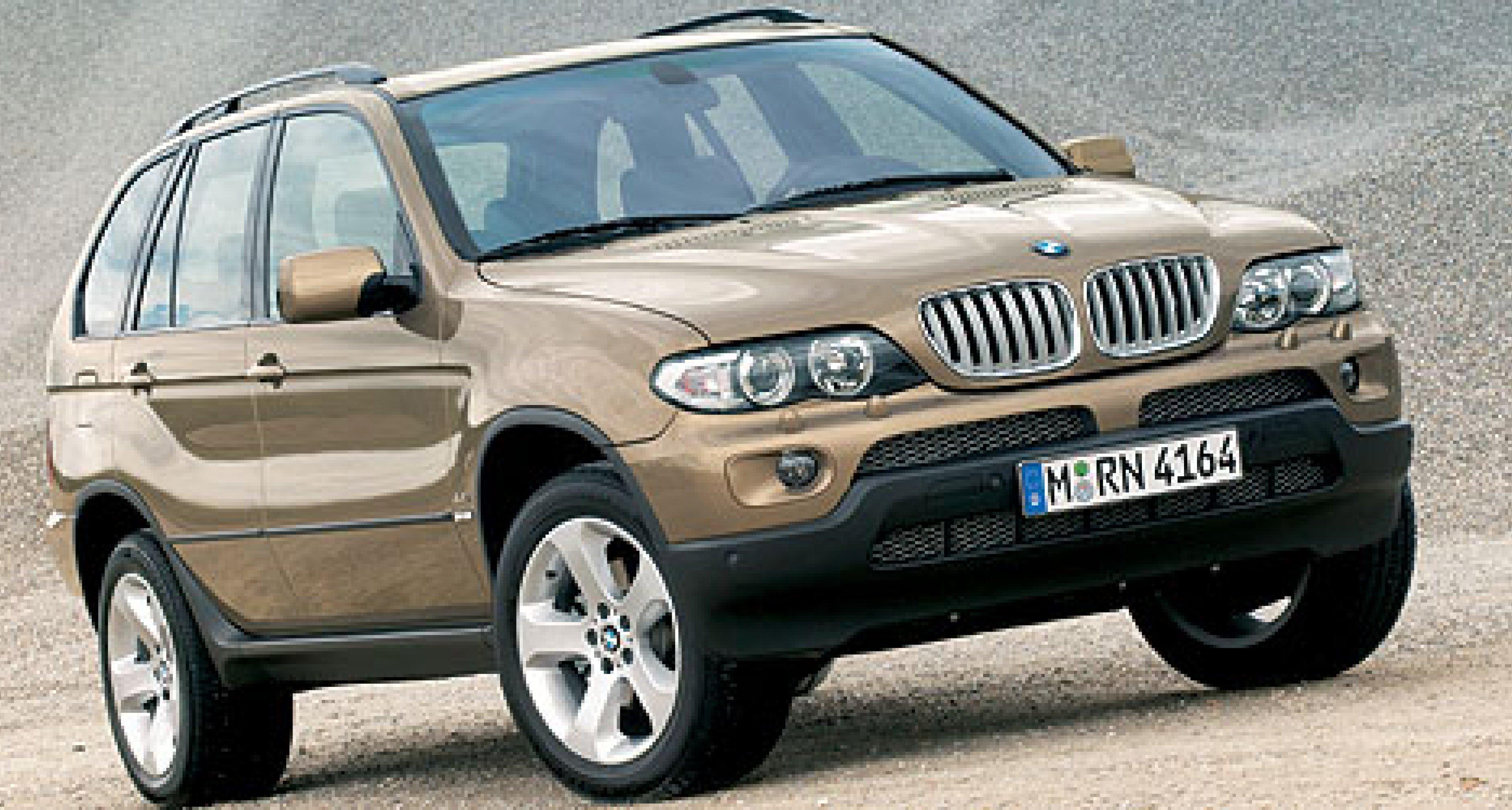 BMW X5: Neuauflage kommt im Herbst 2003