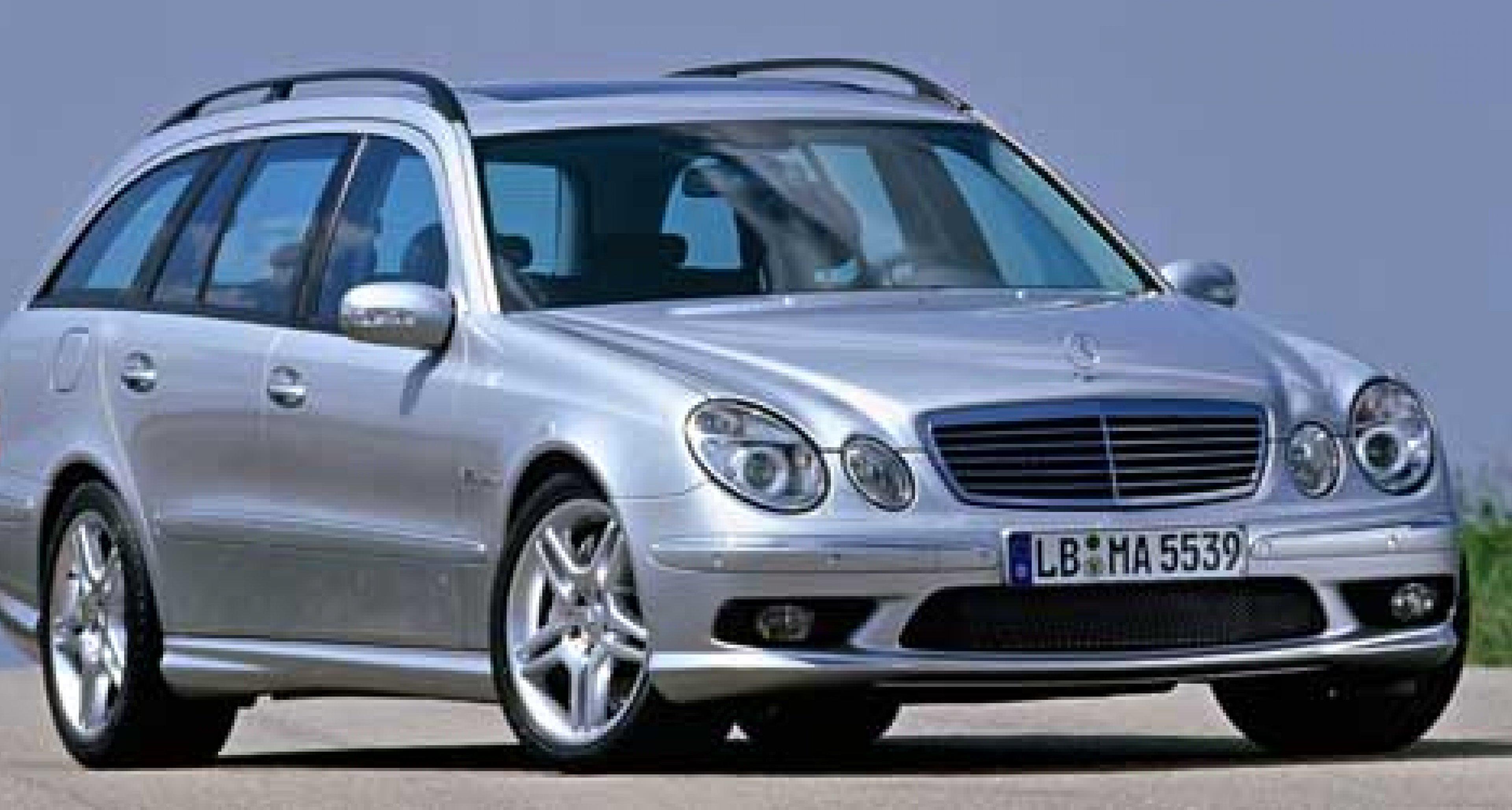 Mercedes announce E55 Estate