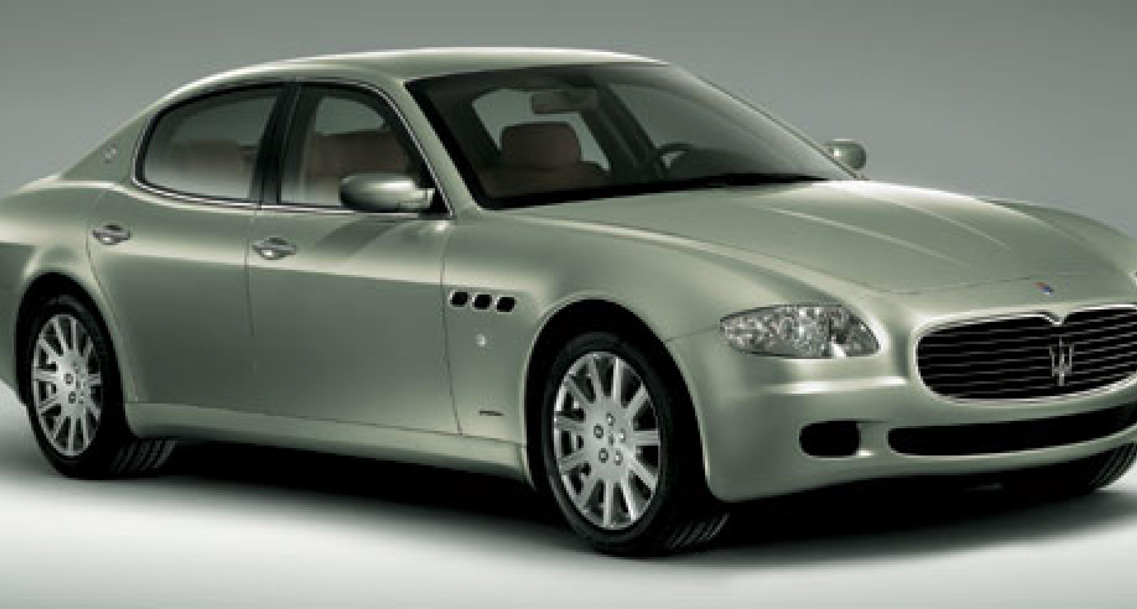 Maserati Quattroporte: Live im Internet