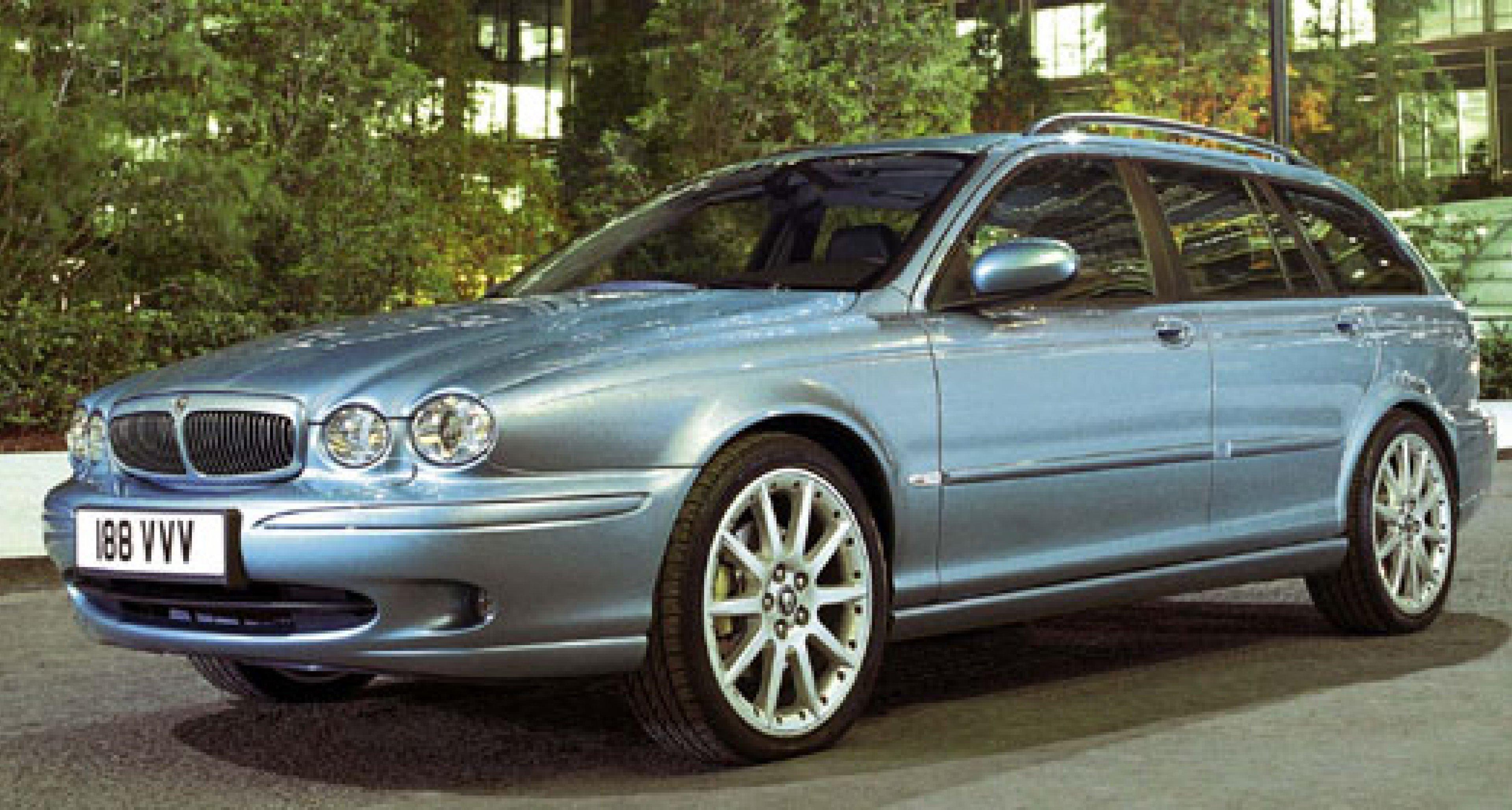 Jaguar X-Type Estate: Weltpremiere