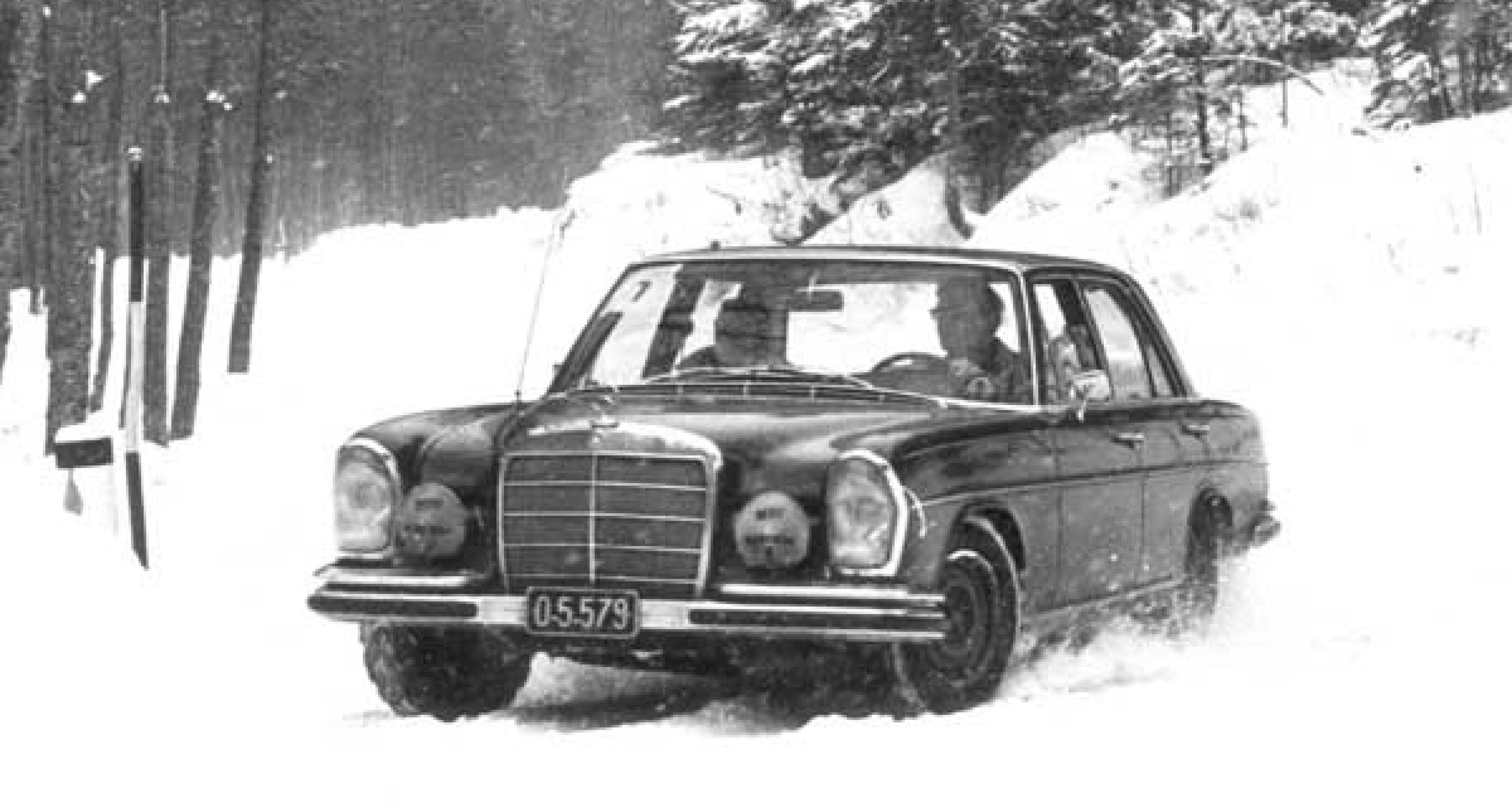 Vorschau -  Wintertourenfahrt am 24. Januar 2004