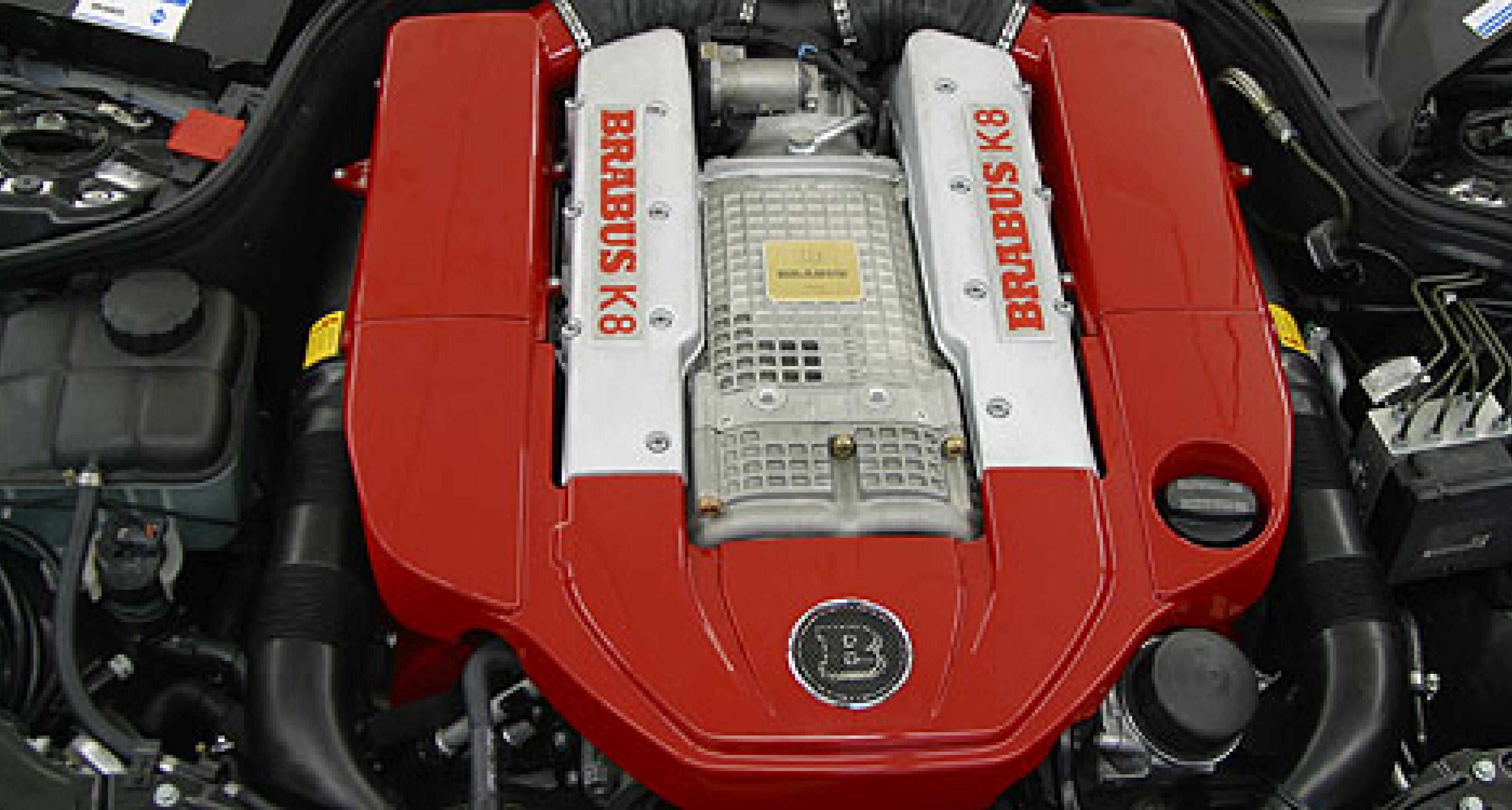 Brabus 550bhp Super CLK hits the road