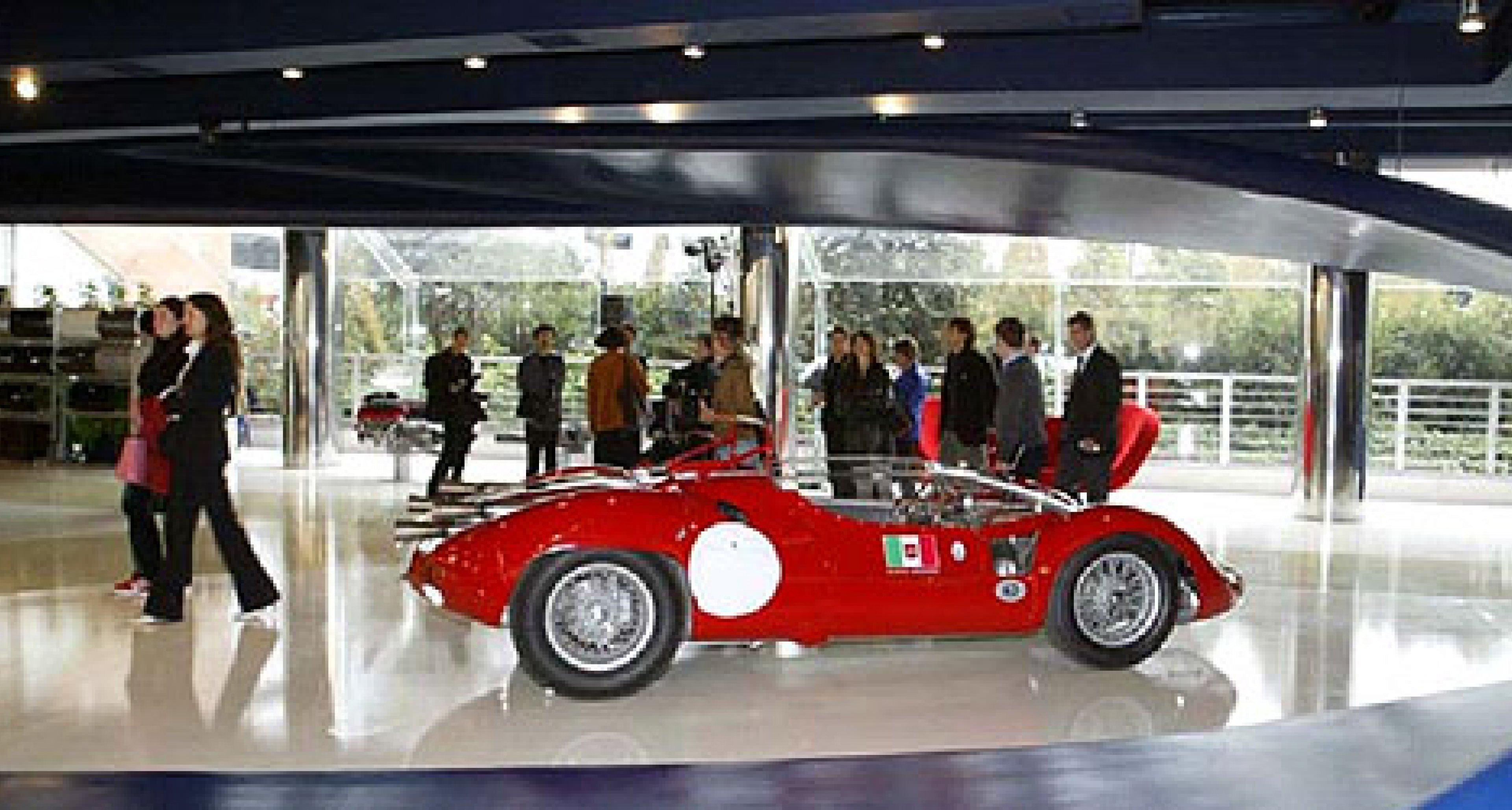Eröffnung des neuen Maserati-Showrooms