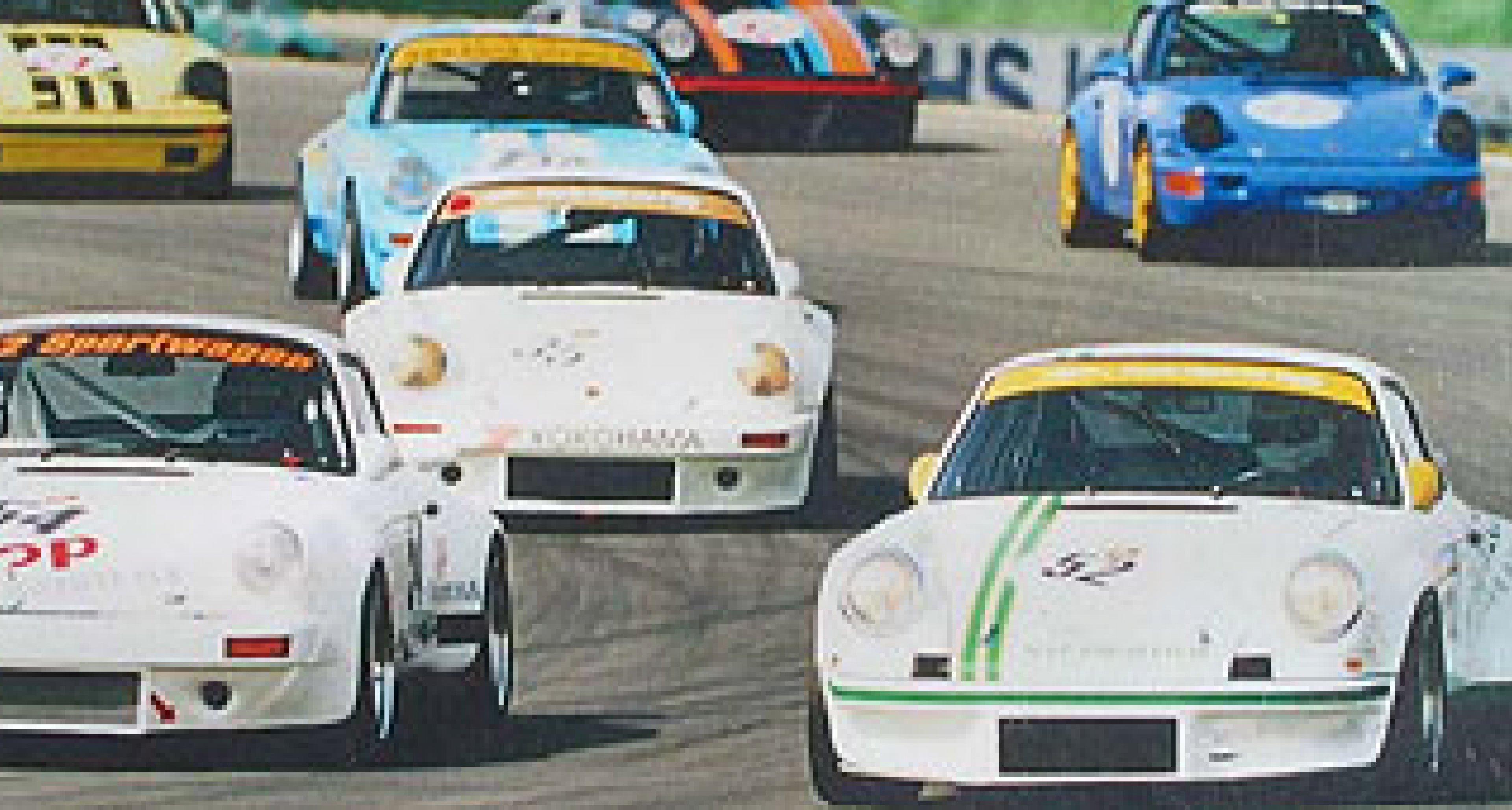 Siebter Lauf der Porsche Classic Car Trophy 2003 am Lausitzring