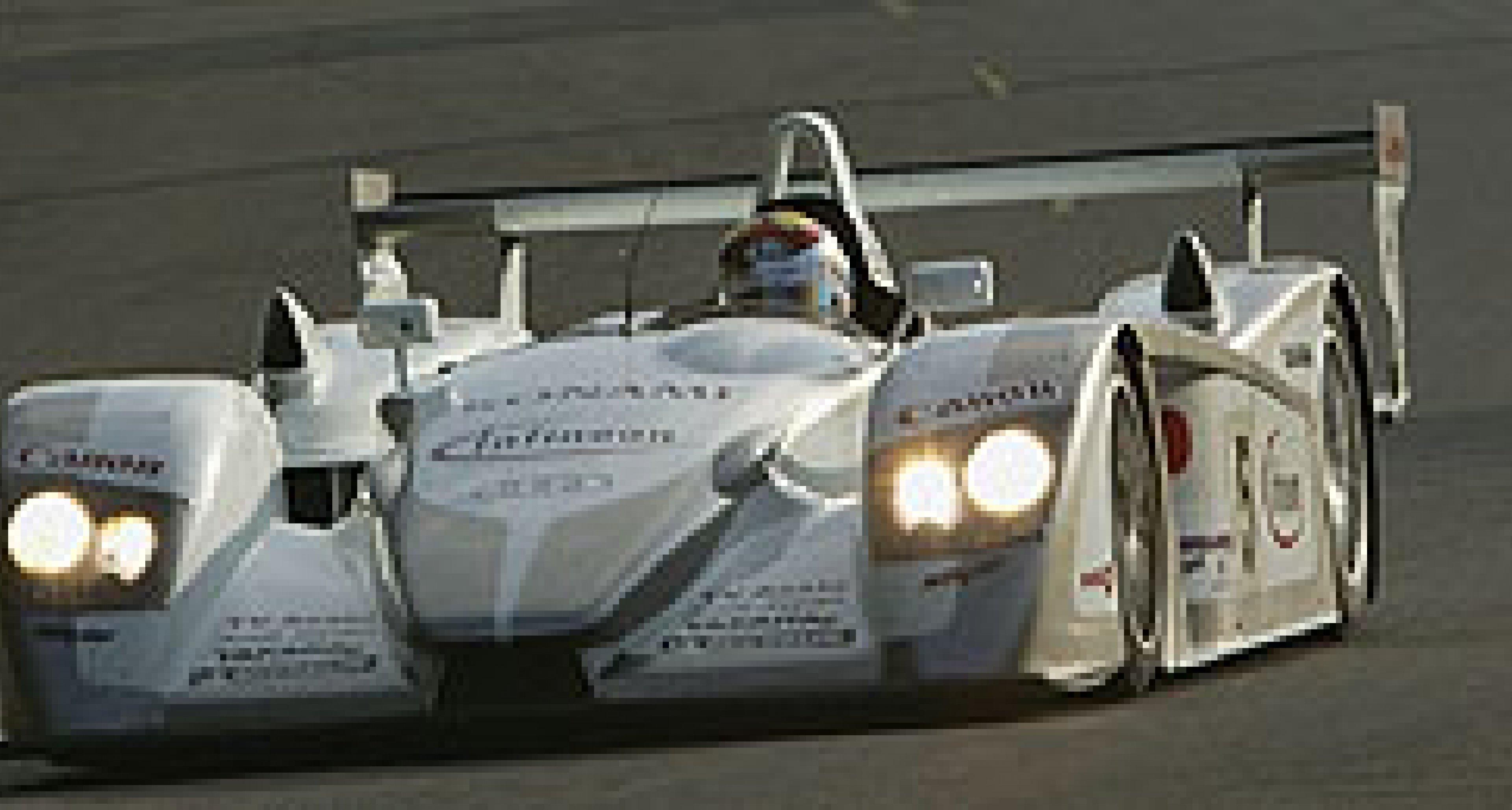 Audi R8 siegt beim 1000-Kilometer-Rennen in Le Mans