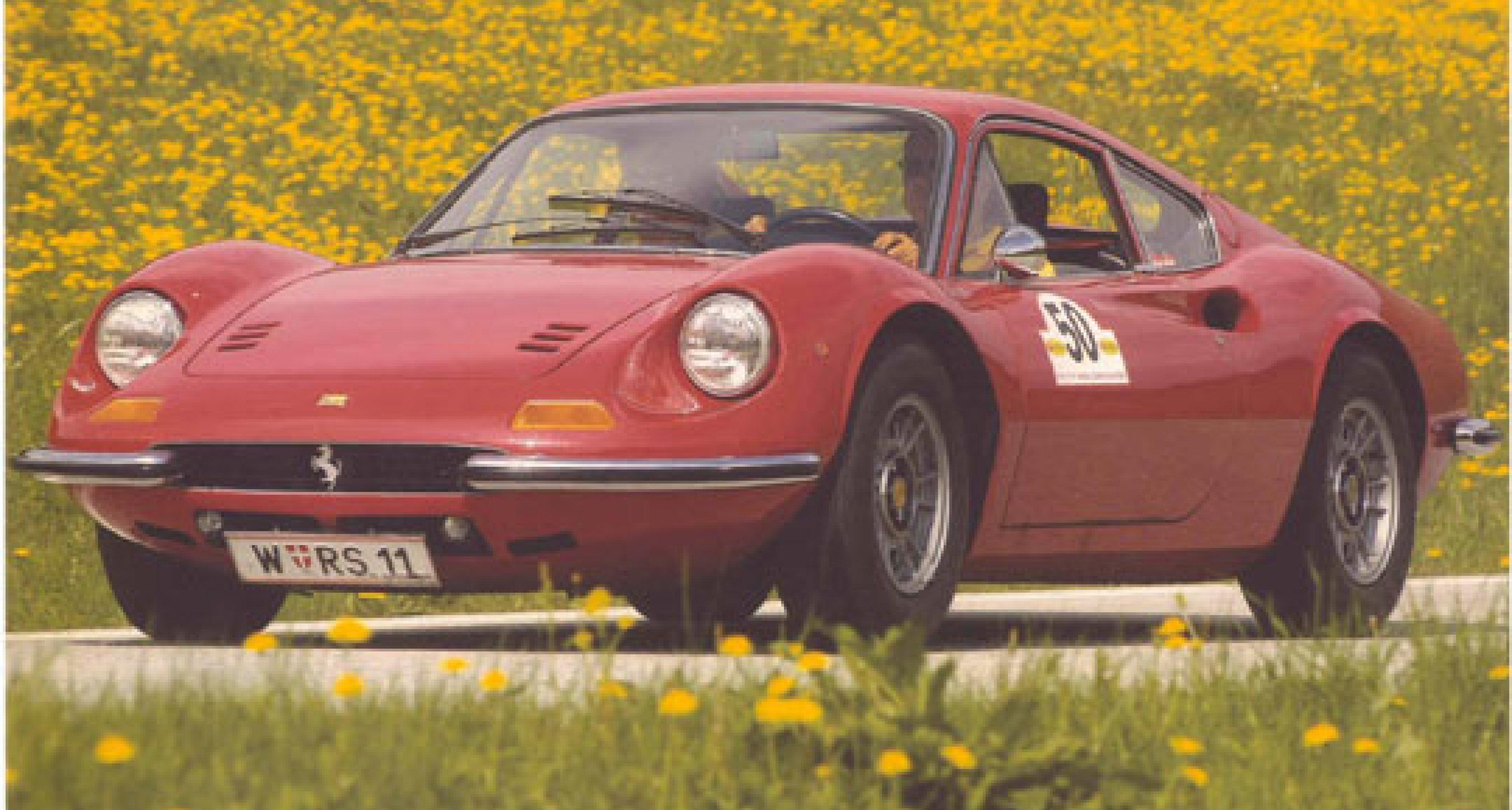 Ferrari Dino 246 GT: Gefahren von Rauno Aaltonen