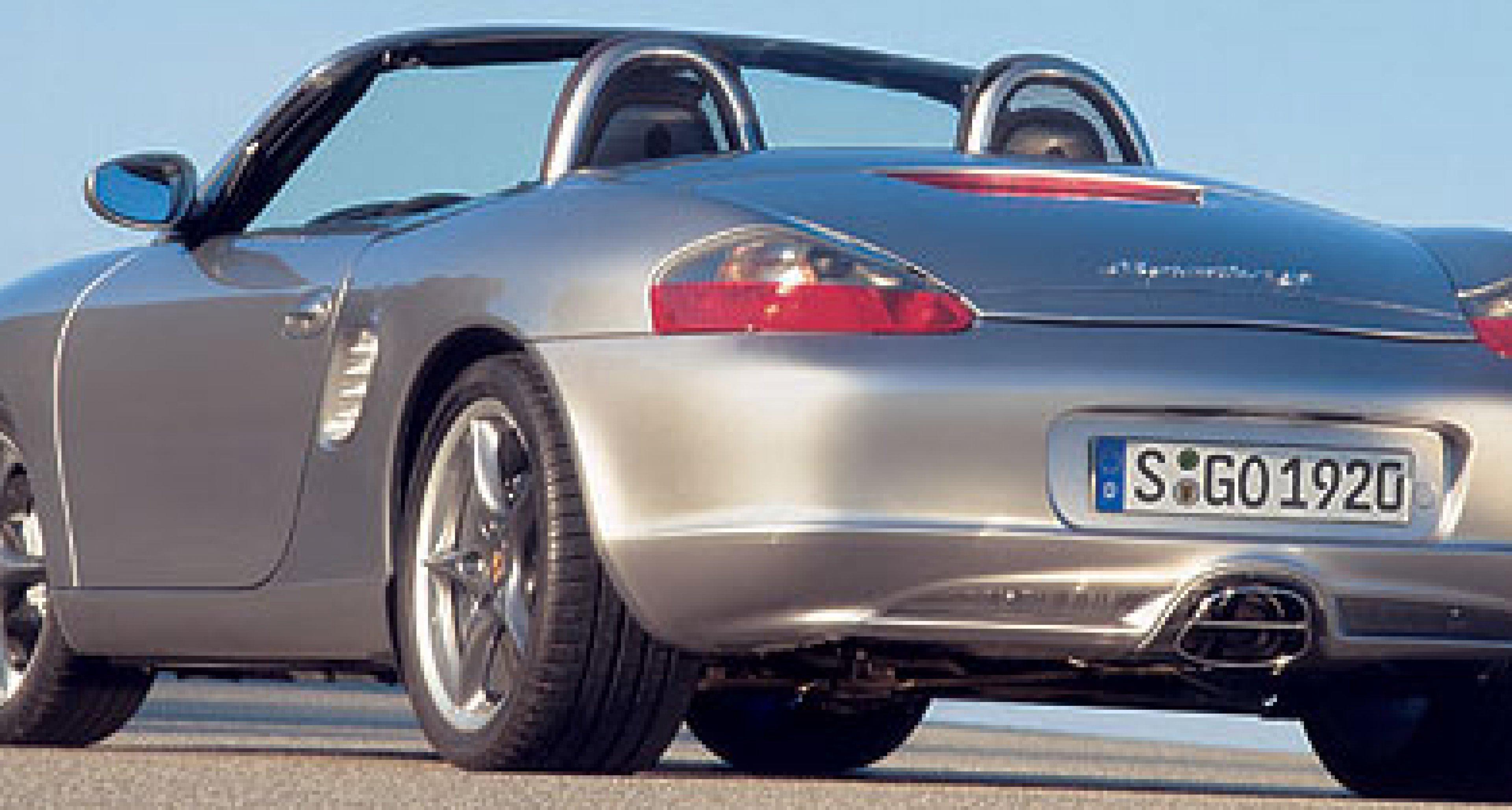 Porsche Boxster S Jubiläumsmodell: 50 Jahre 550 Spyder