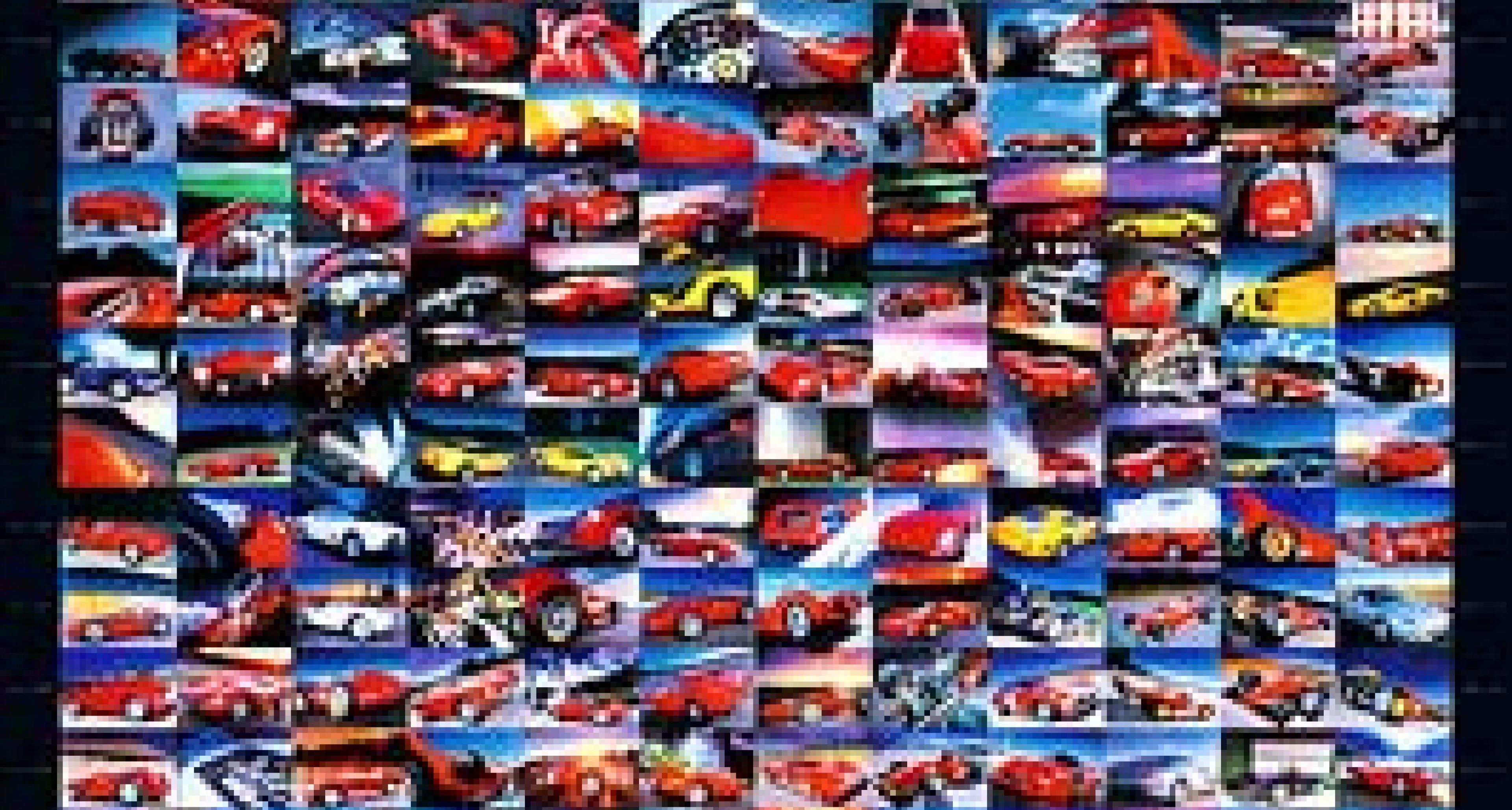 Studio Raupp: 240 Ferrari auf einem Blatt