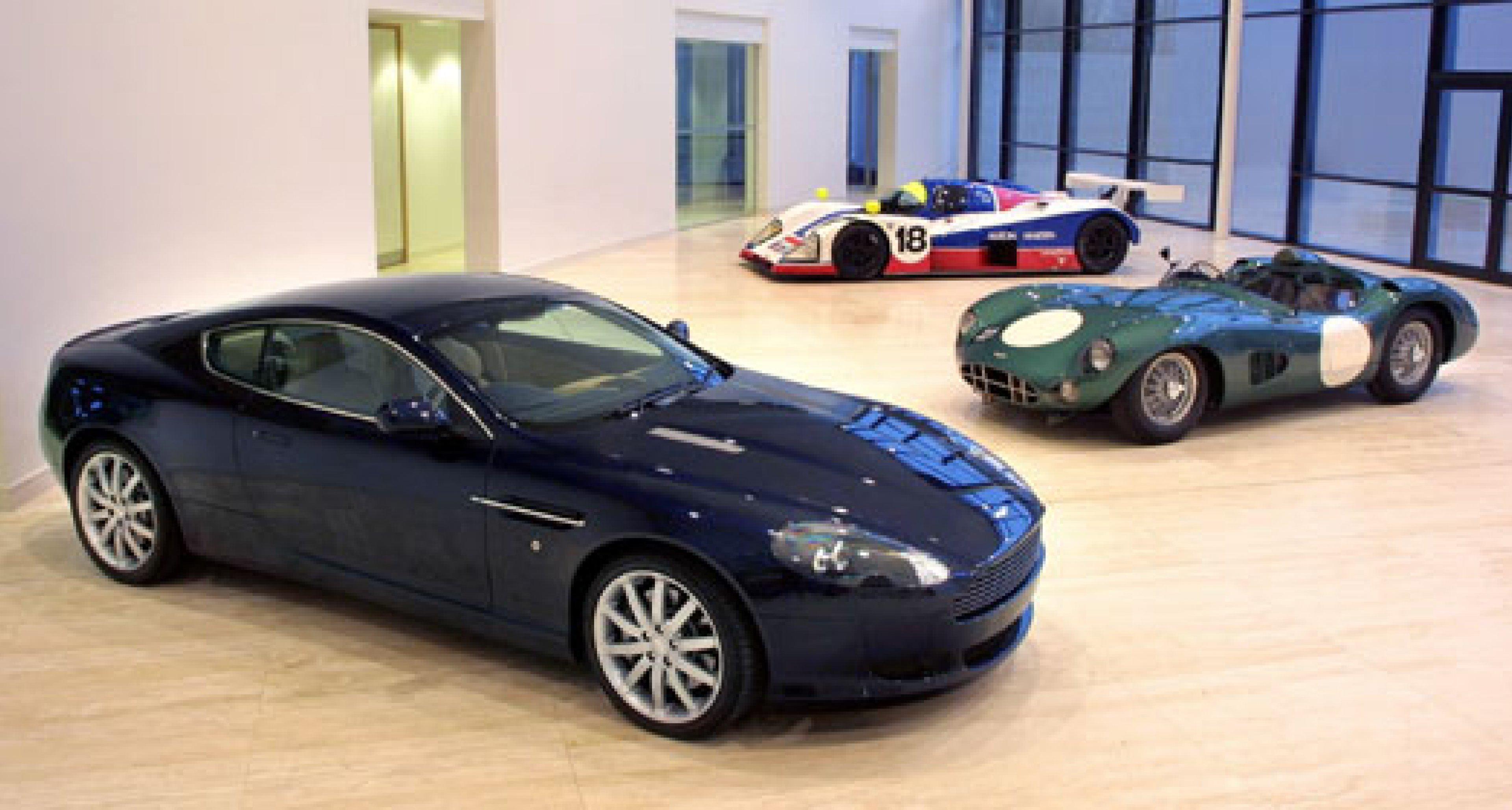 Aston Martin kehrt zurück in den Motorsport
