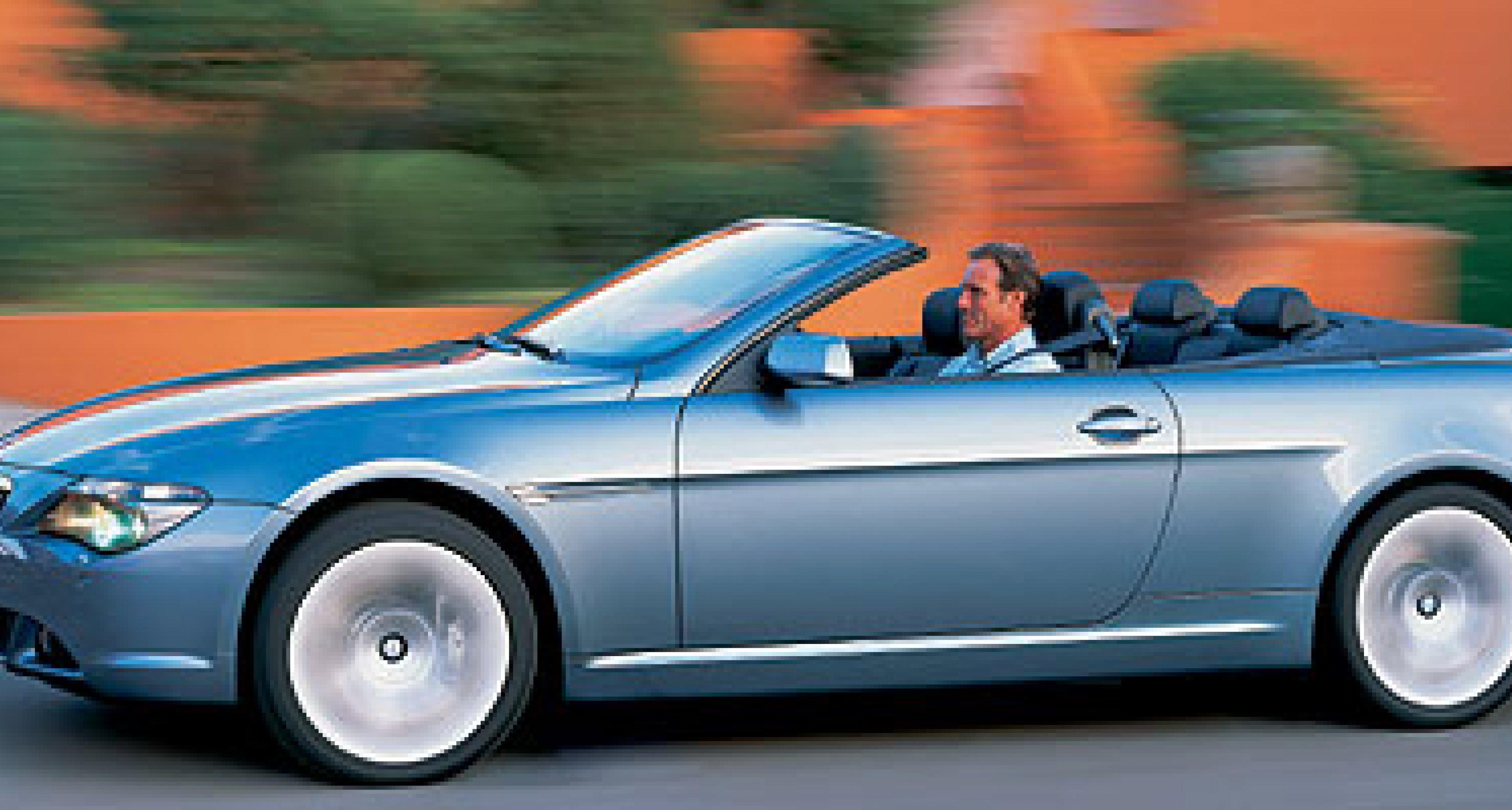 BMW 645Ci Cabriolet: Offene Variante folgt