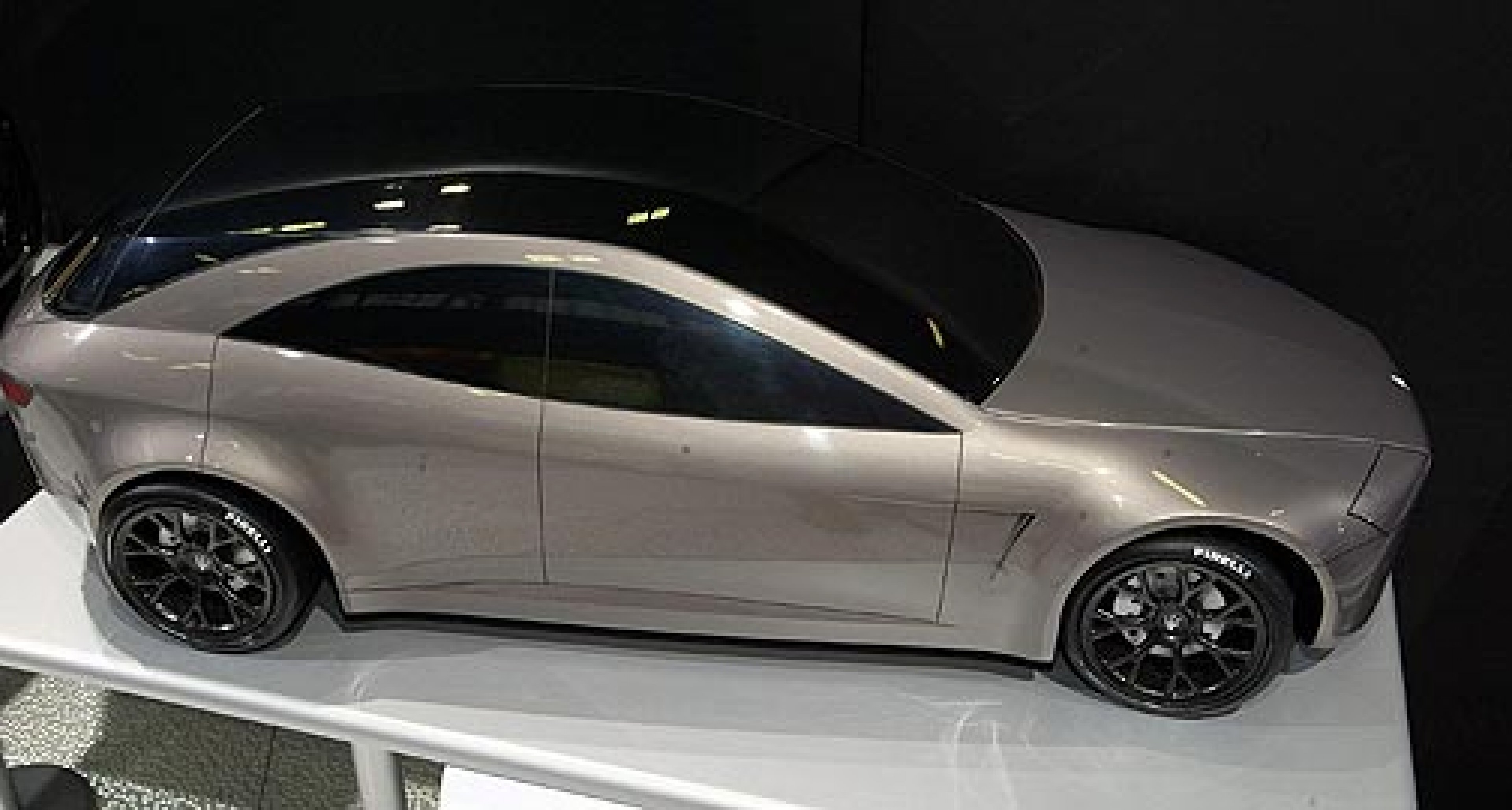 Models of future Maseratis at the Bologna Motor Show
