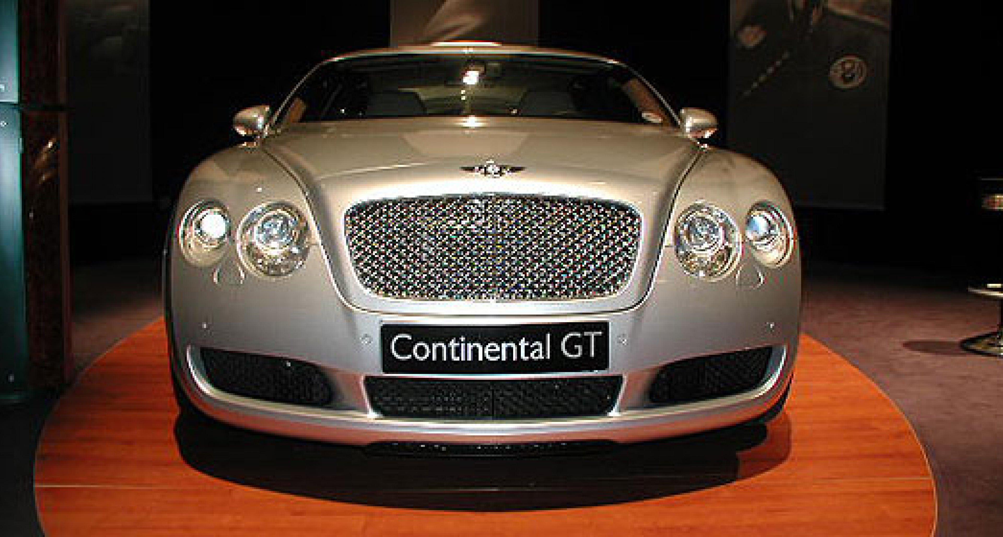 Probefahrt mit dem Bentley Continental GT