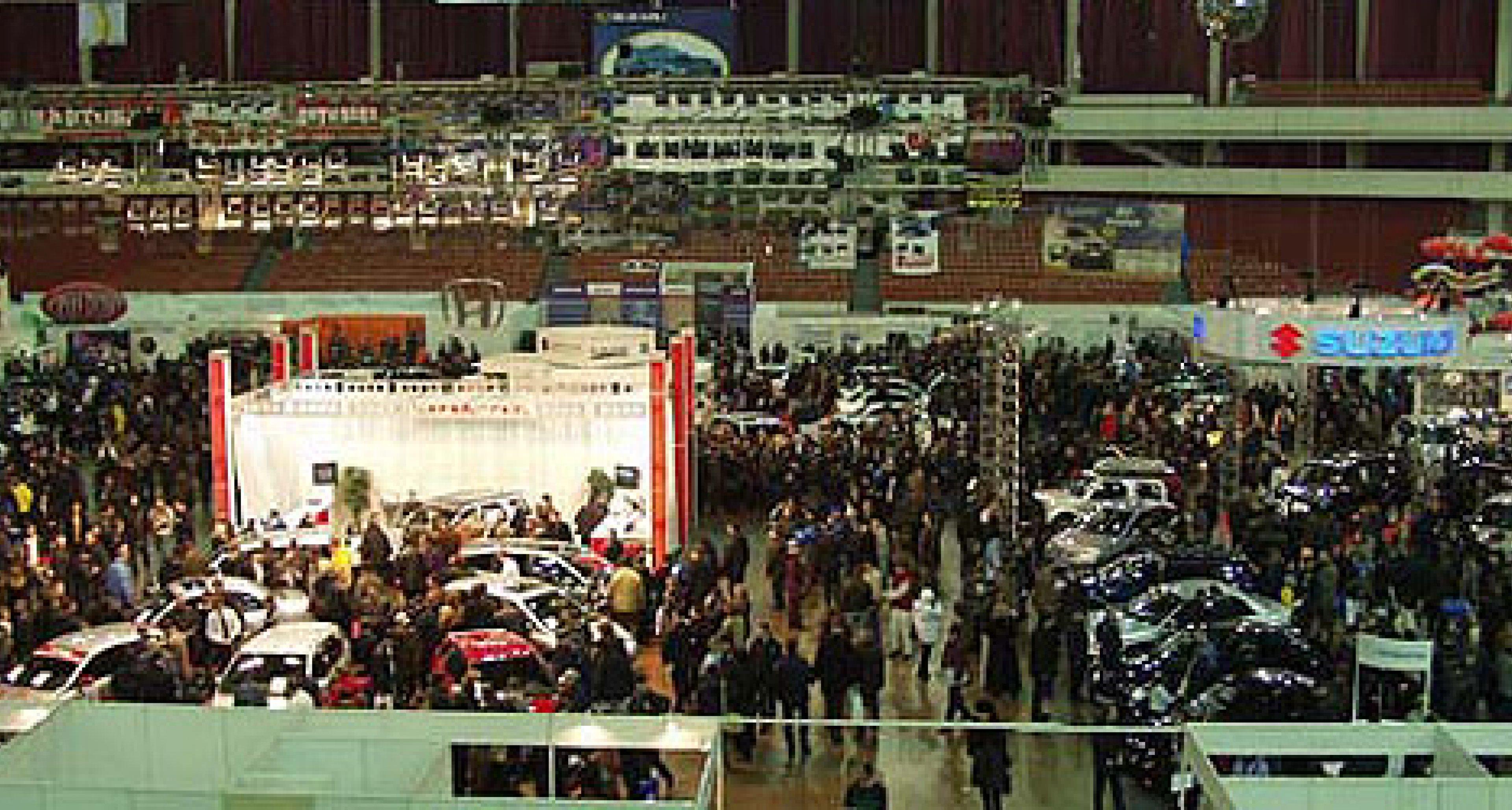 """Vorschau -  """"Autoworld"""" in St. Petersburg - 7. bis 11. April 2004"""