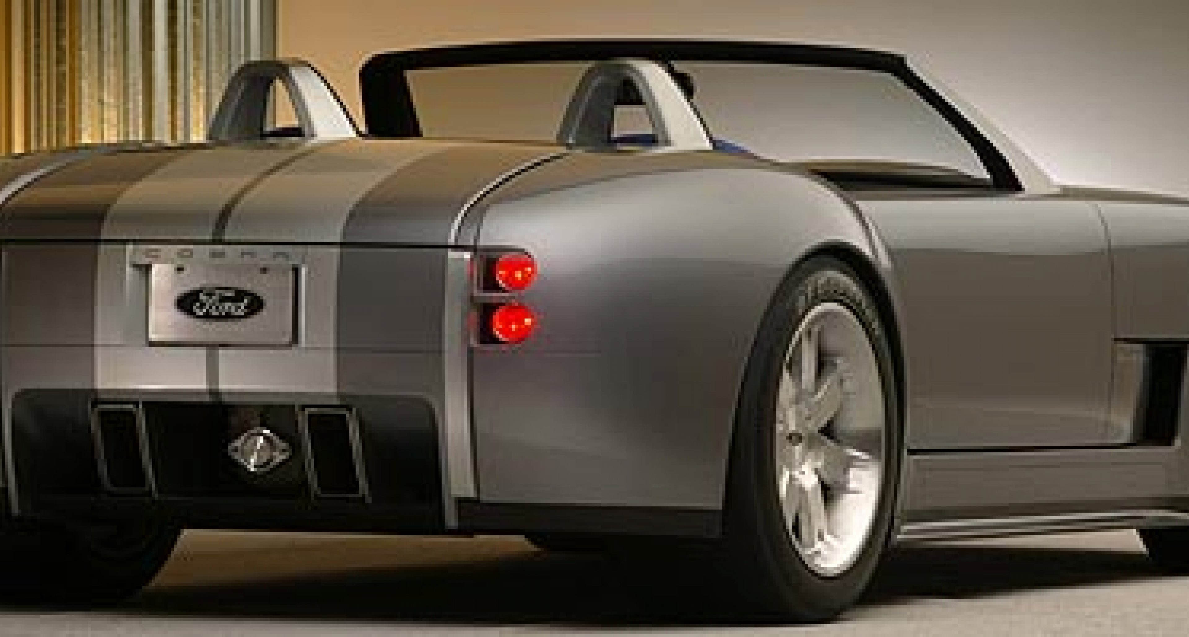 Ford Shelby Cobra concept  - with 605bhp V10