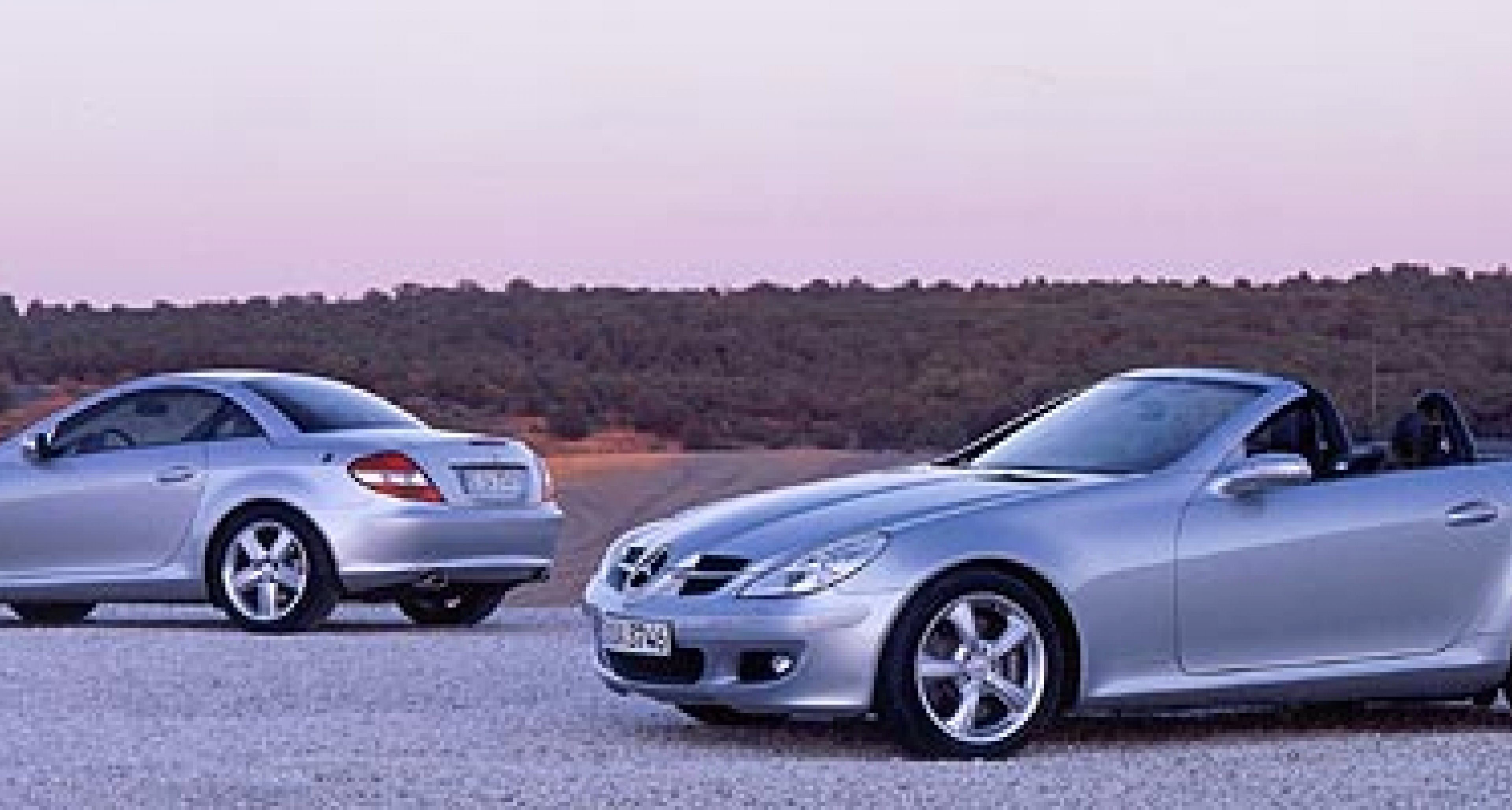 The new Mercedes-Benz SLK-Class for 2004