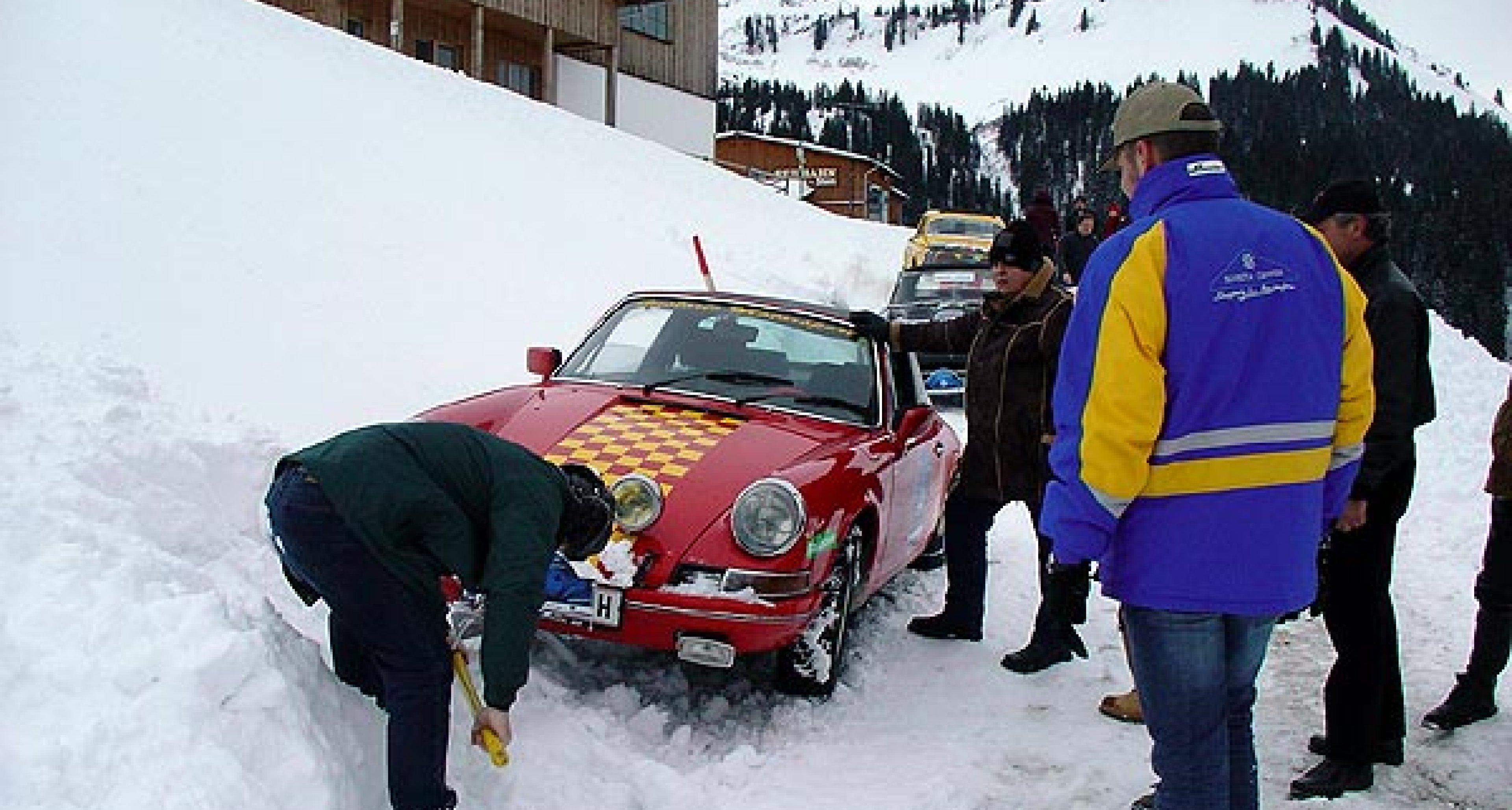 Rückblick: 3. Ländle Classic Schneegestöber 2004
