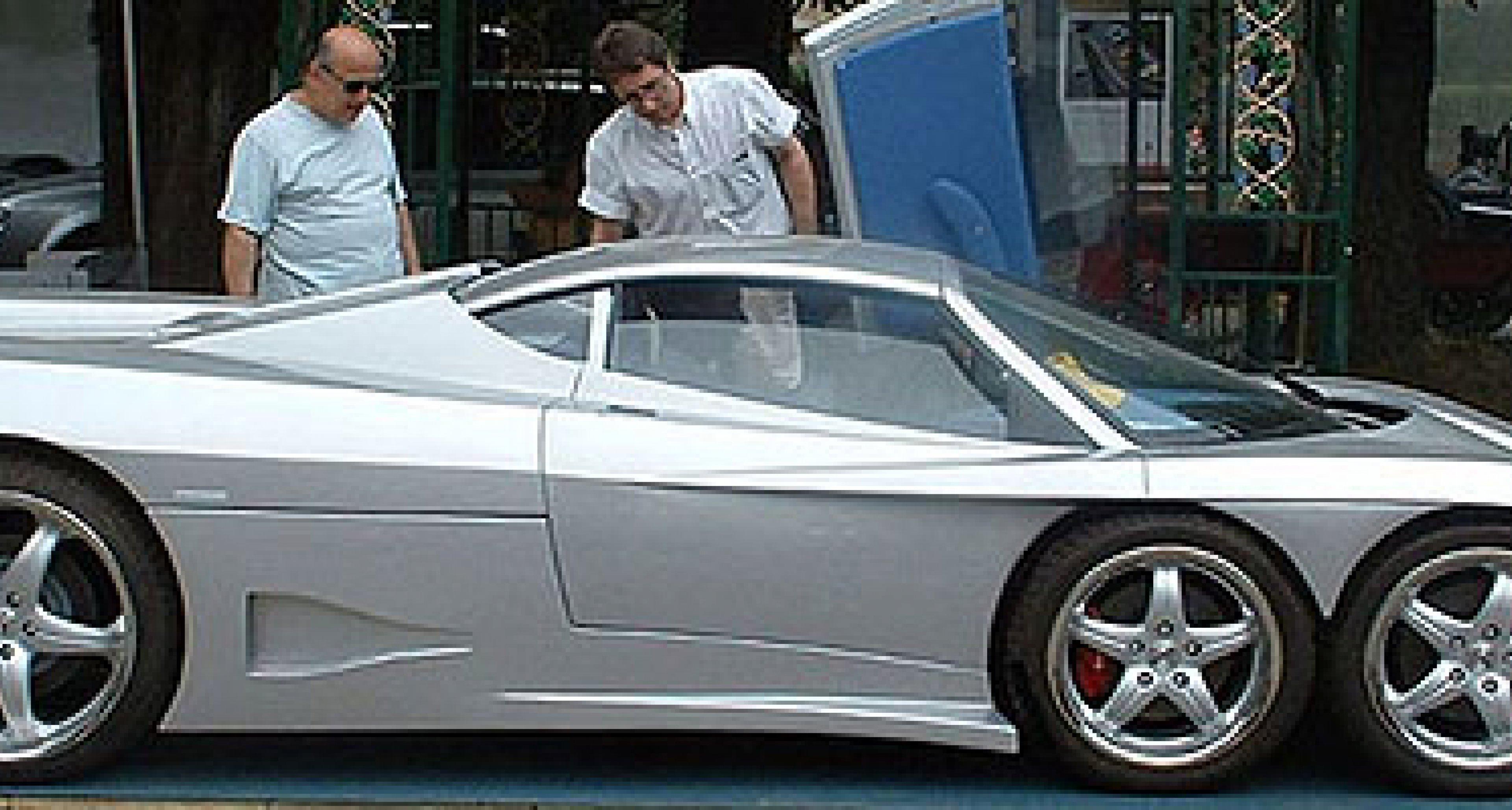 Covini C6W: Ein Supersportwagen auf sechs Rädern