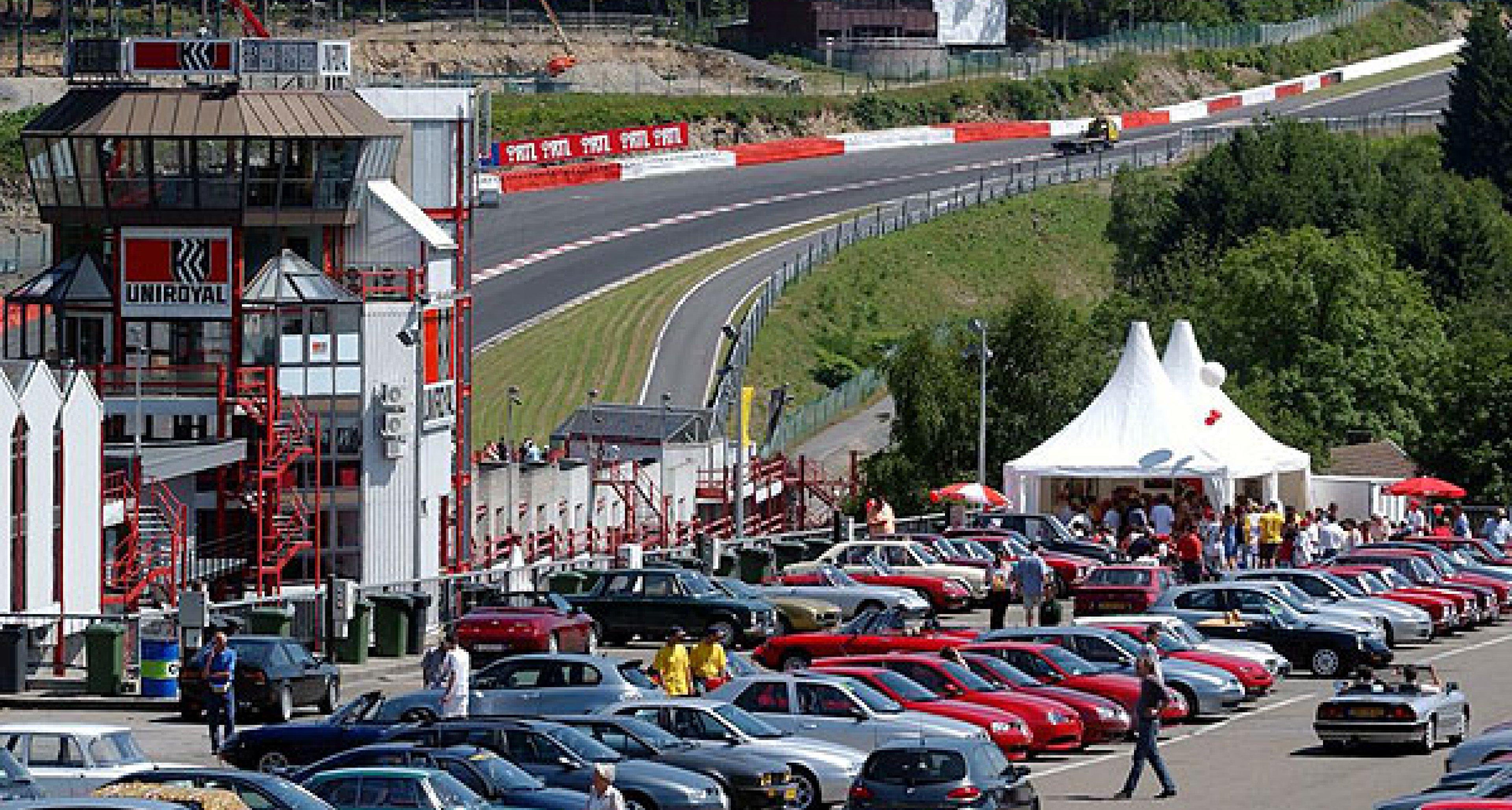 SpaItalia 2004 auf dem belgischen F1-Rundkurs Spa Francorchamps