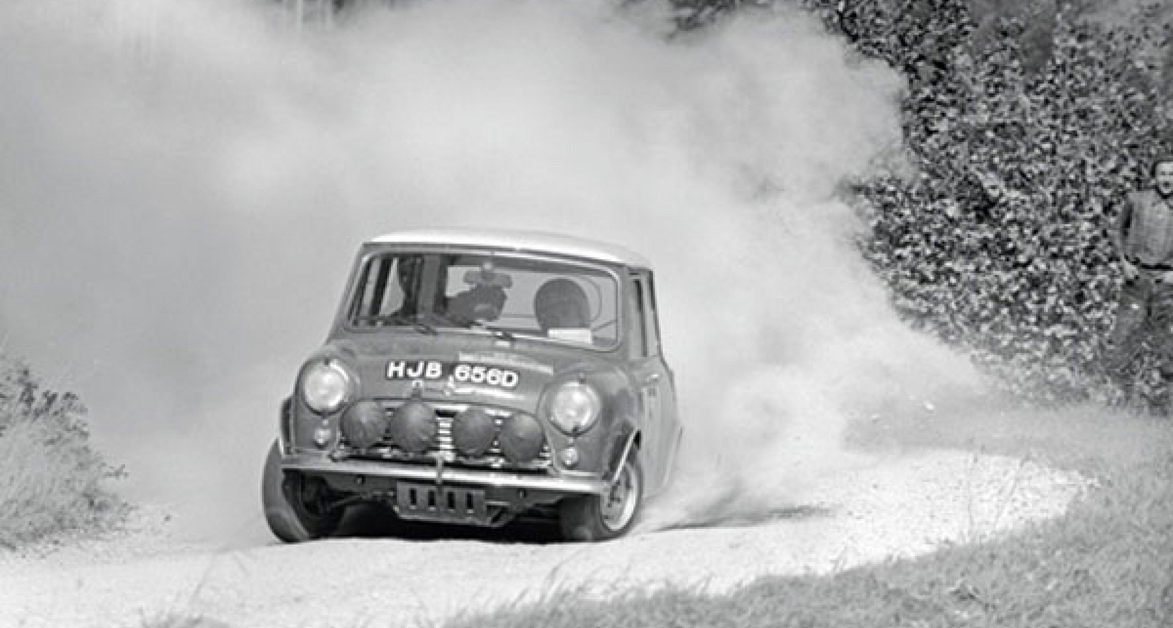 Mini 1964: Sieg bei der Rallye Monte Carlo
