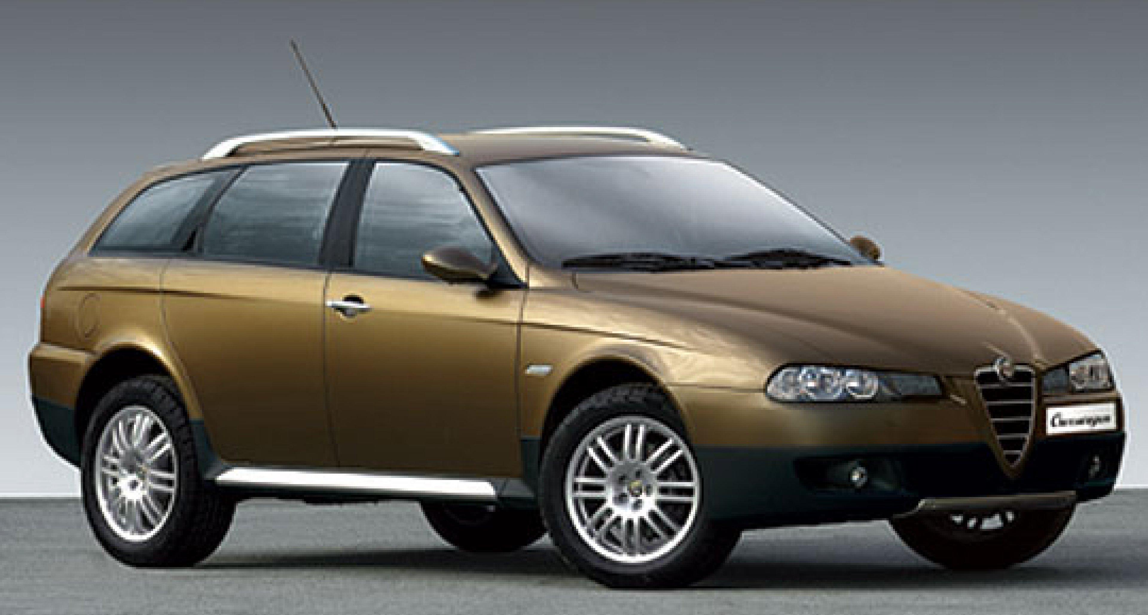 Alfa Crosswagon: Weltpremiere in Genf 2004