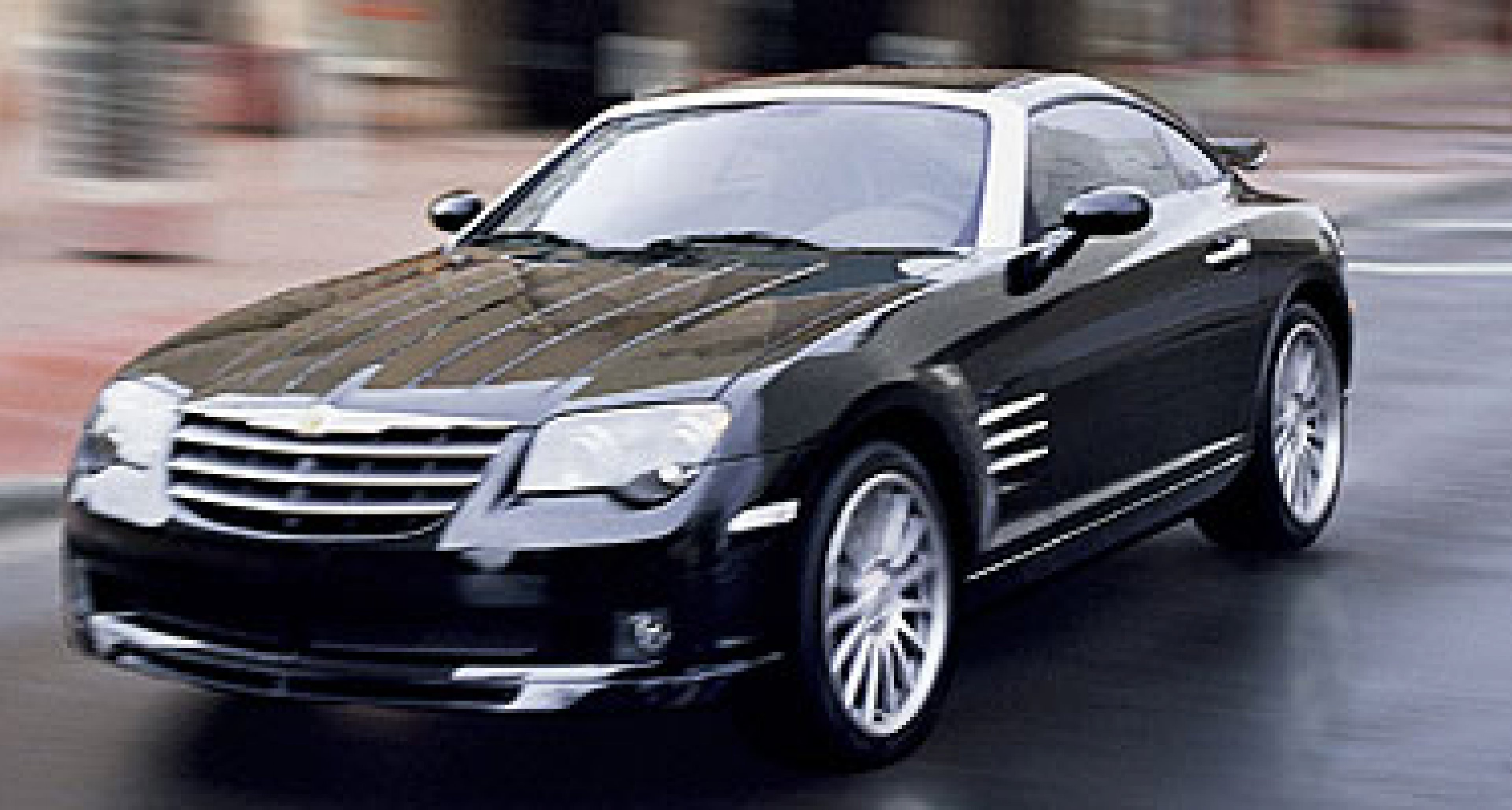 Chrysler Crossfire SRT-6: Erster Chrysler mit SRT-Emblem