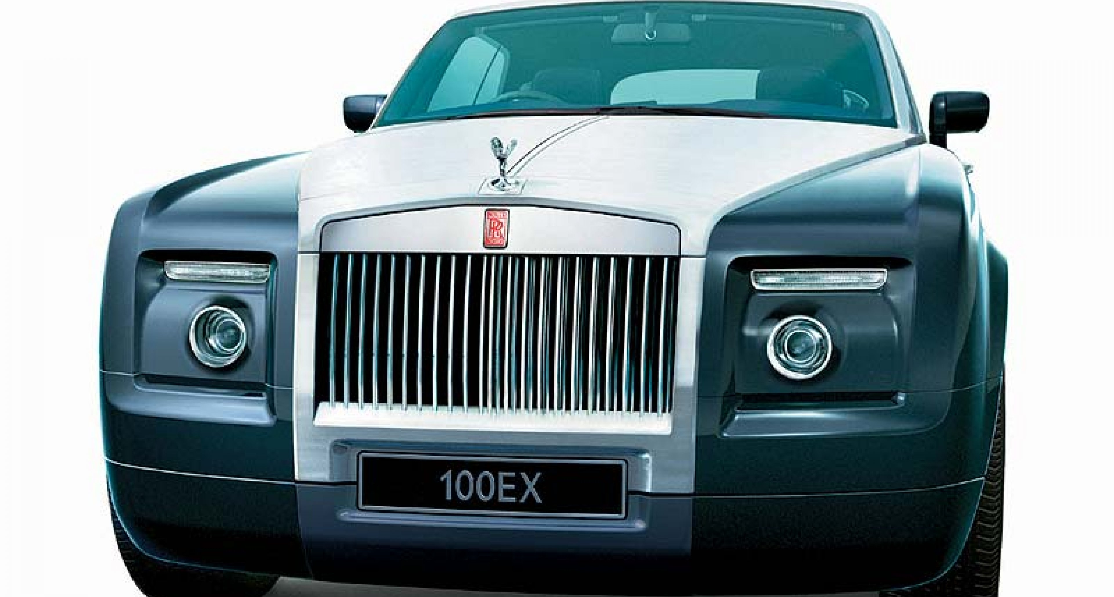 Rolls-Royce 100EX  roadster - surprise showing at Geneva Show
