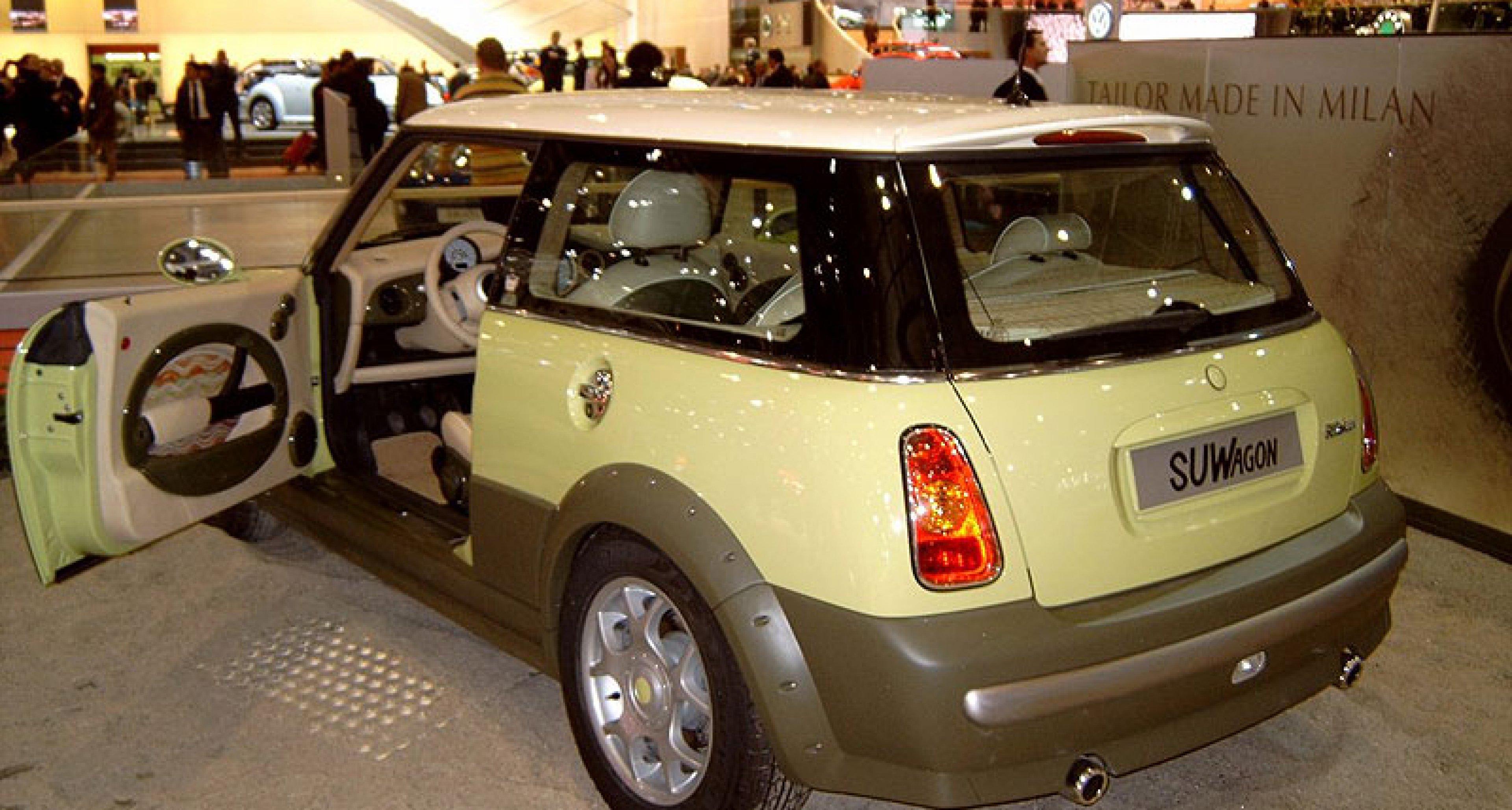 The Traveller returns - MINI design exercises at Geneva 2004