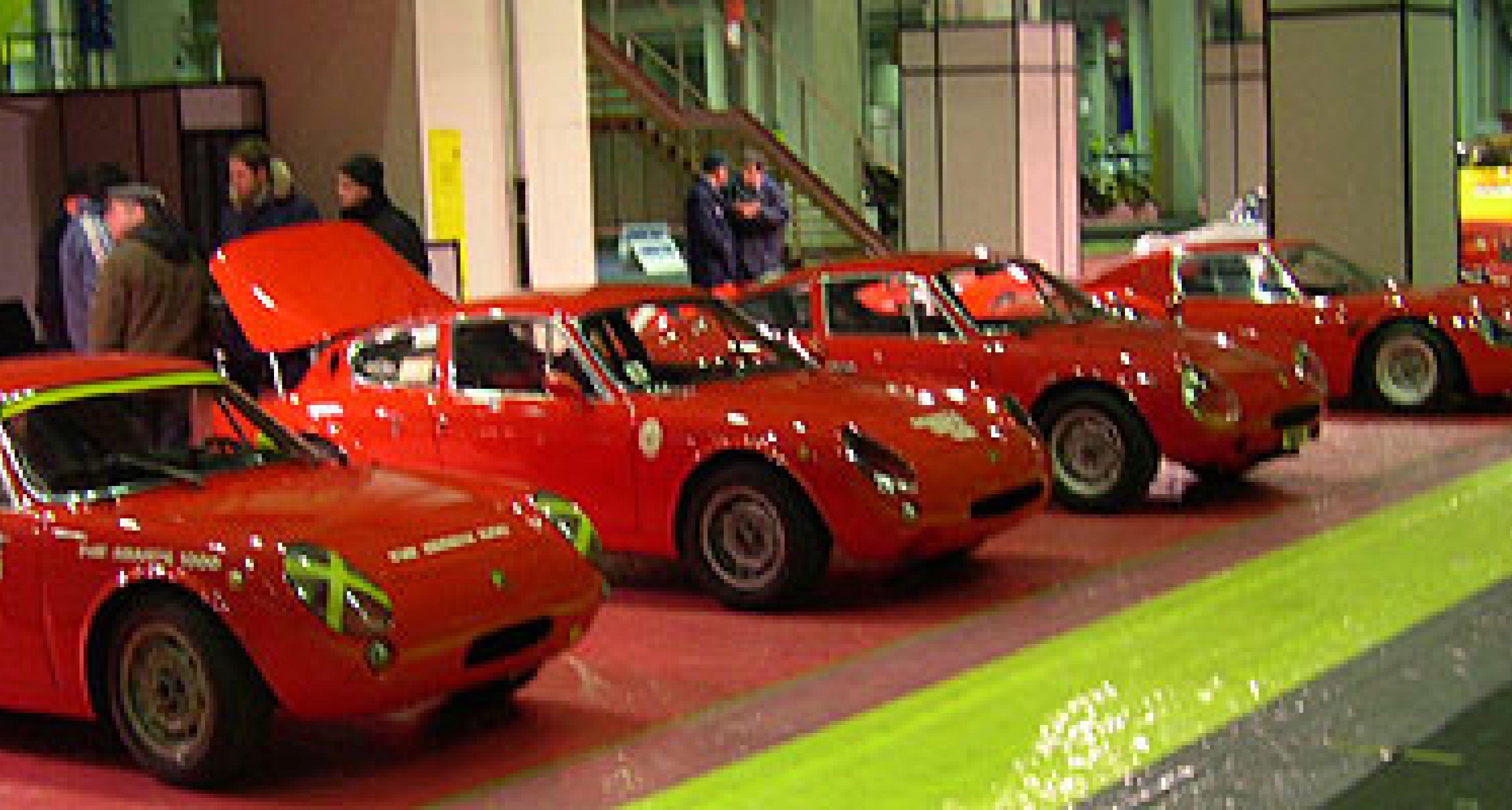 Automotoretrò 2004 feiert 55. Jahre Abarth