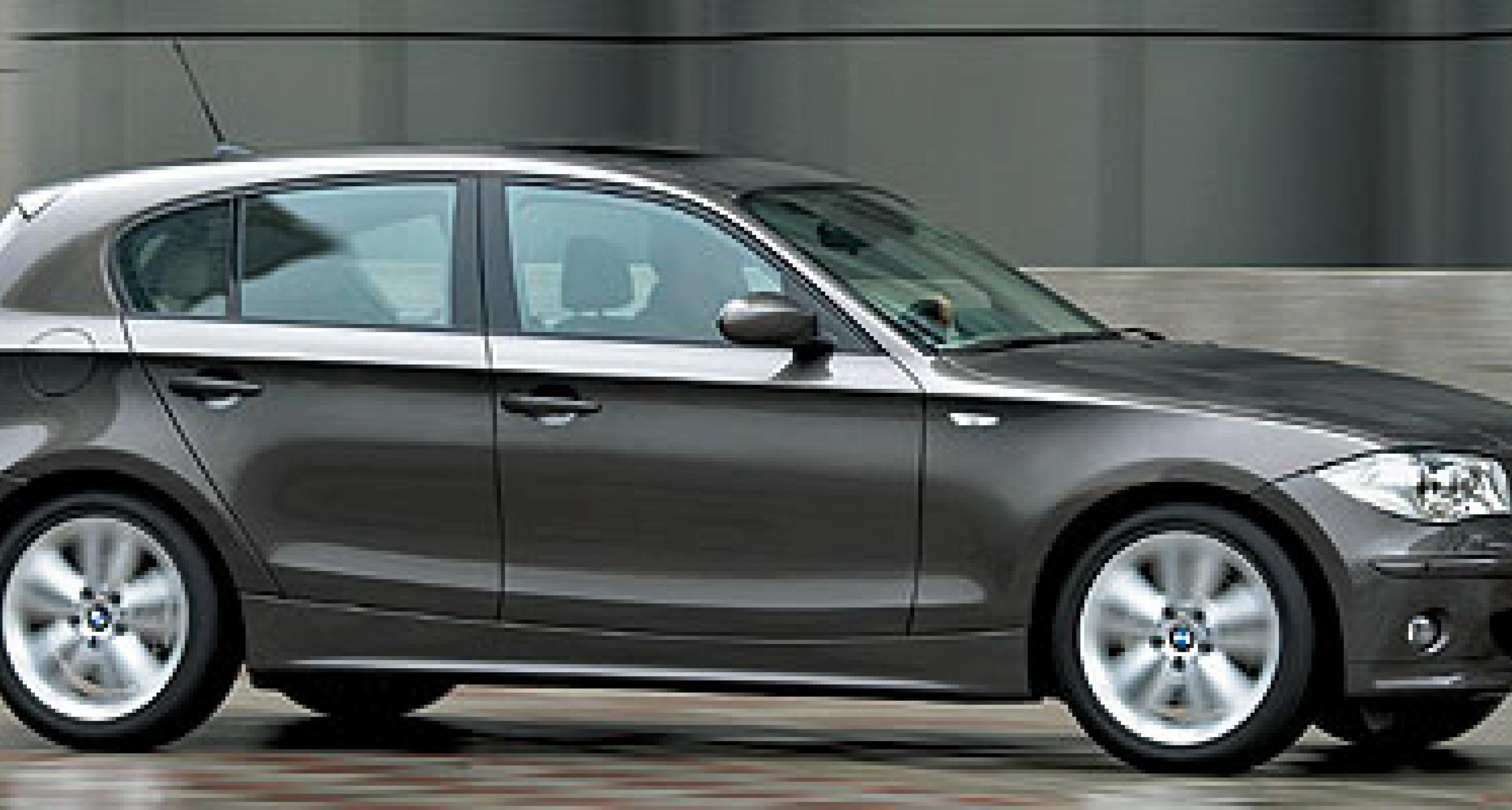 BMW announces 1-series