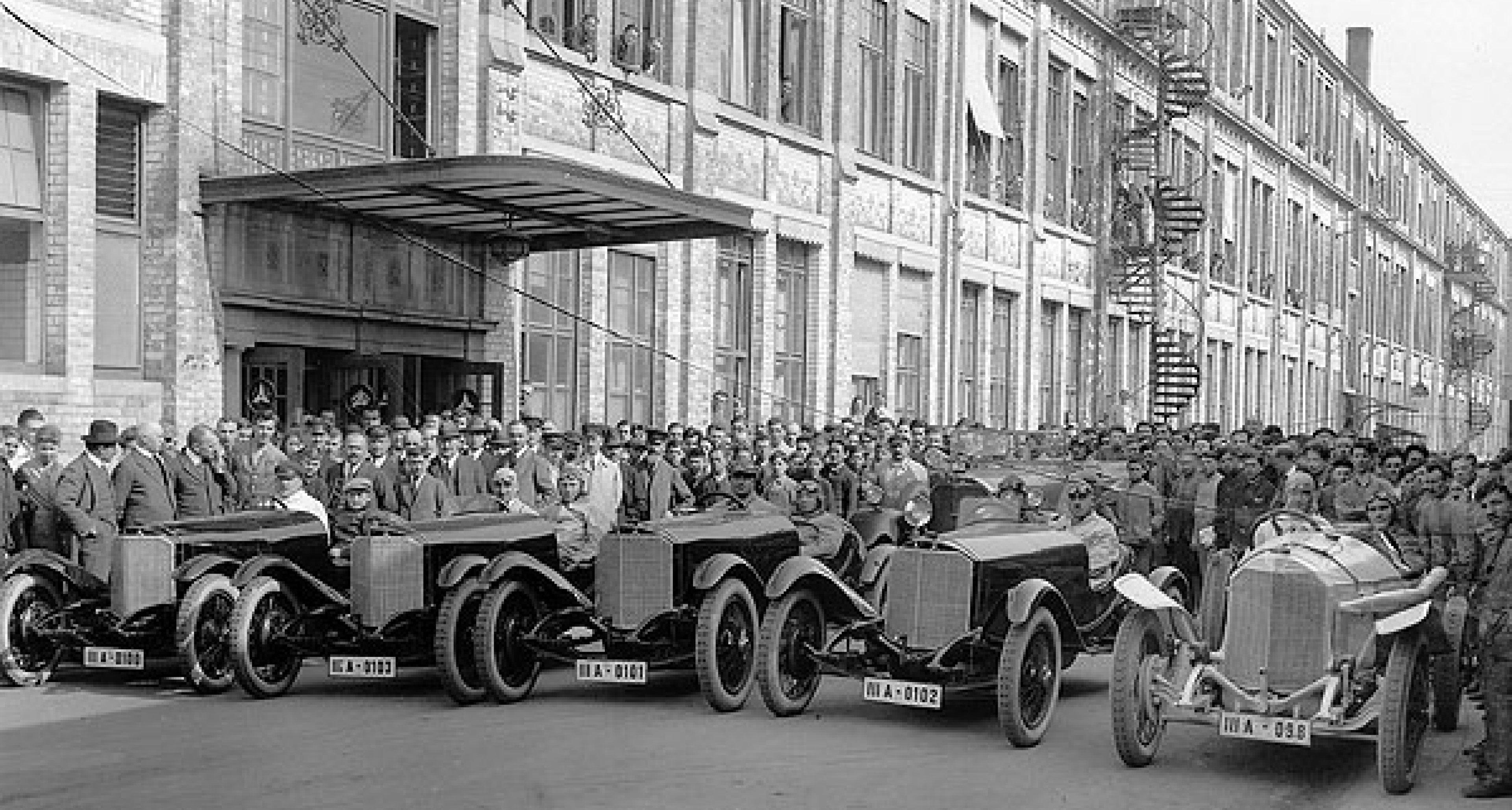 Mercedes-Benz 1924: Triumph bei Targa Florio und Coppa Florio