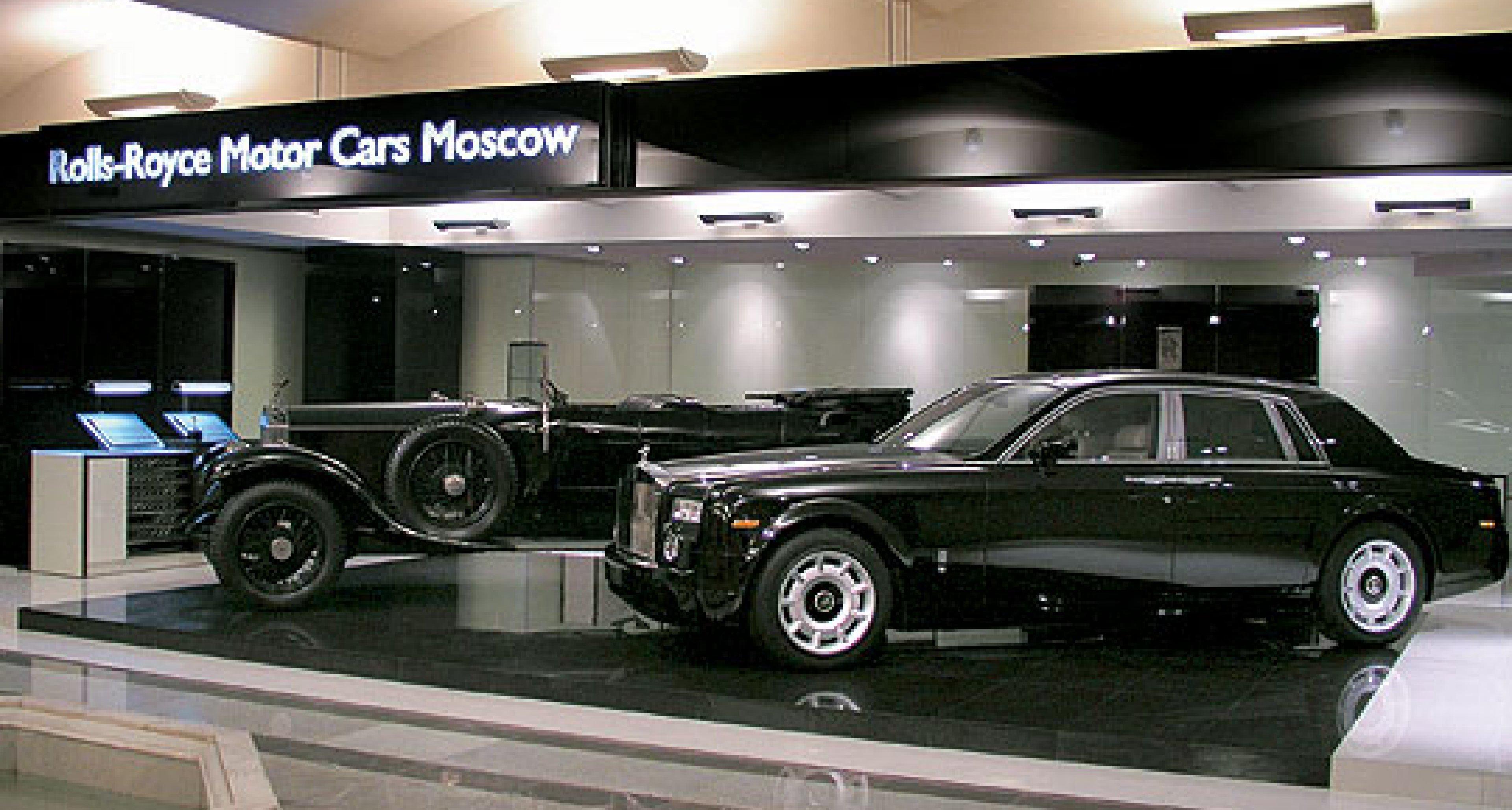 Rolls-Royce eröffnet neuen Showroom am Roten Platz, Moskau