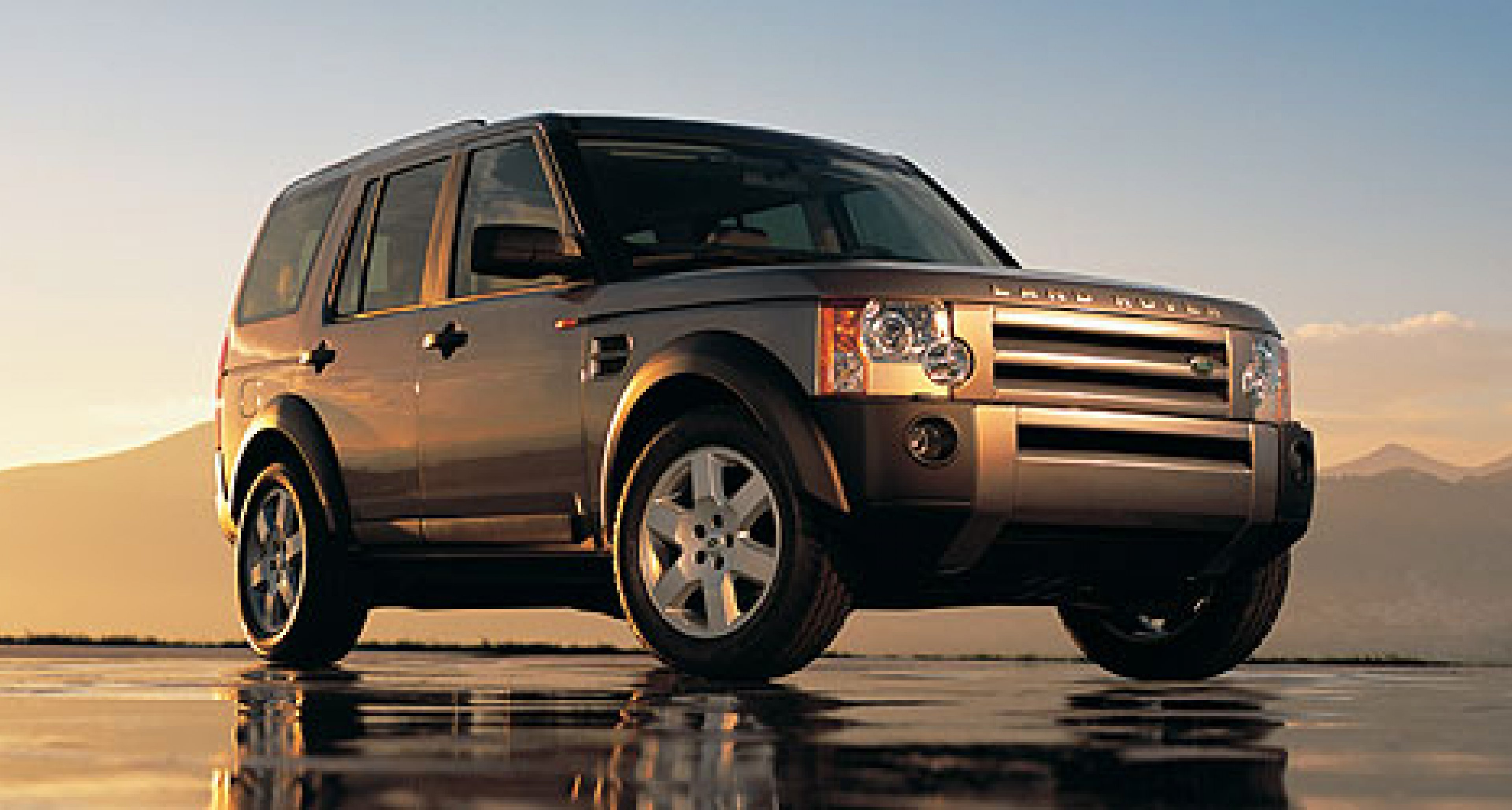 The all-new Land Rover Discovery 3