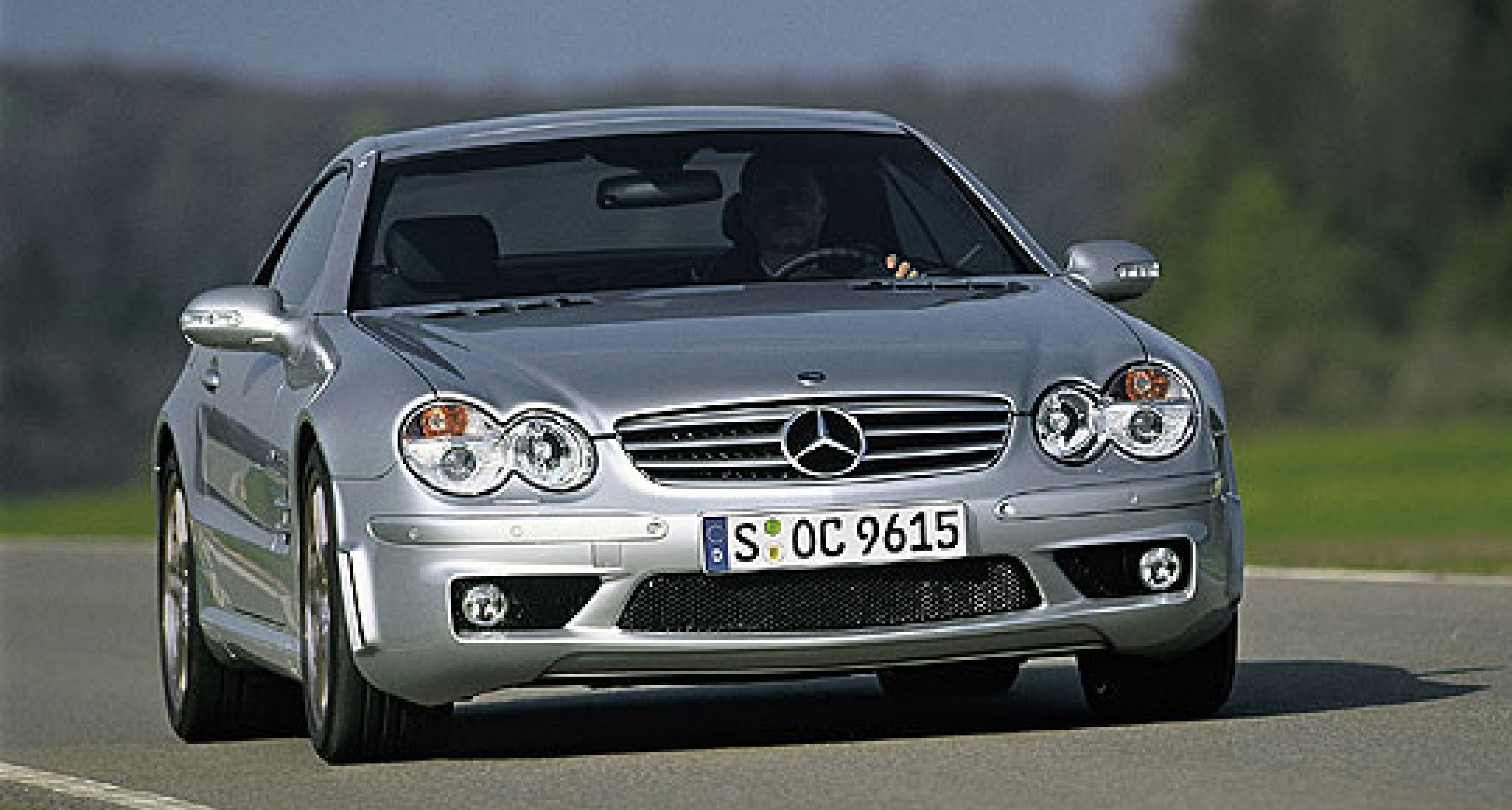 Mercedes-Benz SL 65 AMG: the most powerful roadster in the world