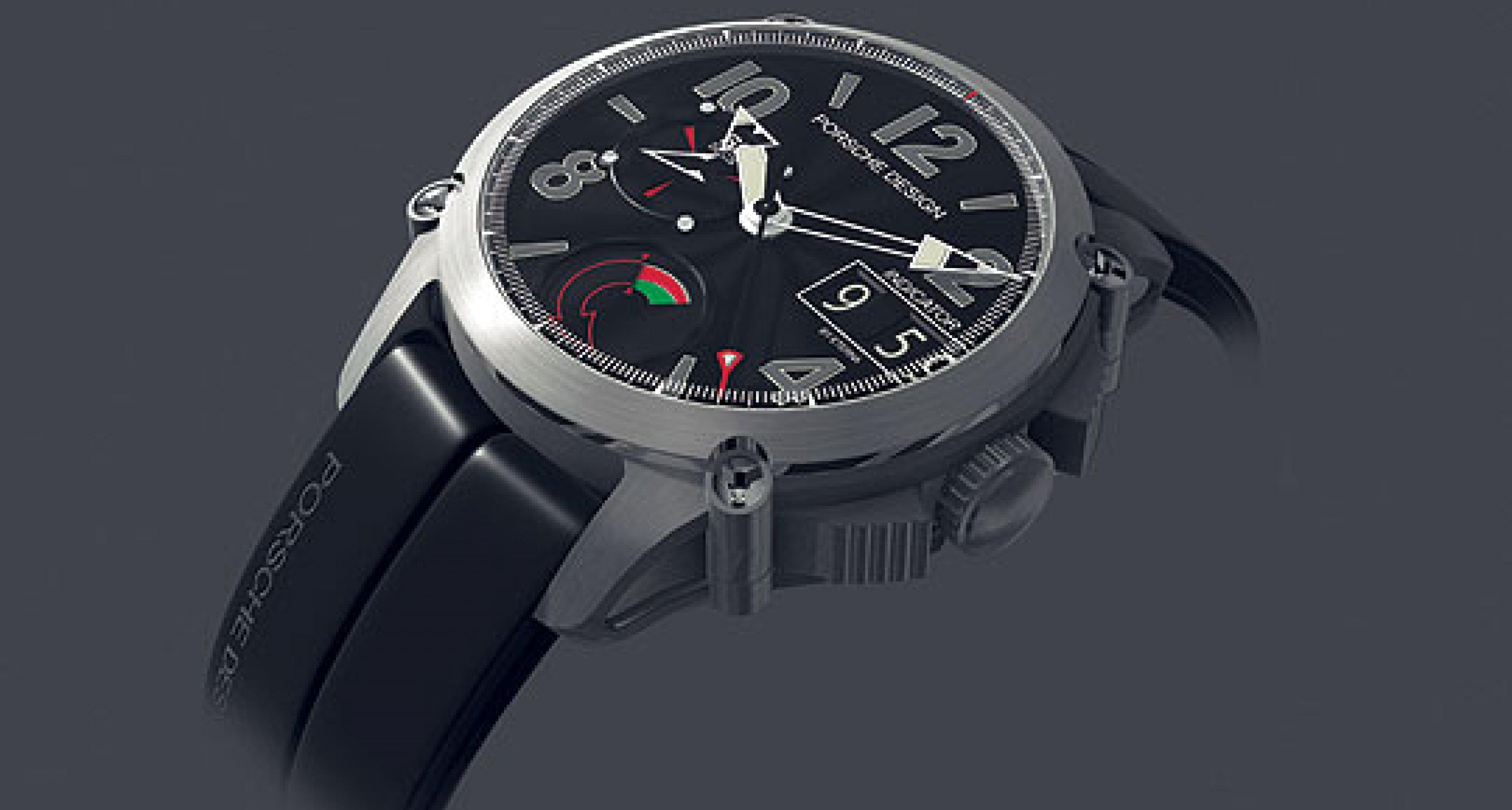 "Porsche reveals the The ""Porsche Design Indicator"" at Baselworld 2004"