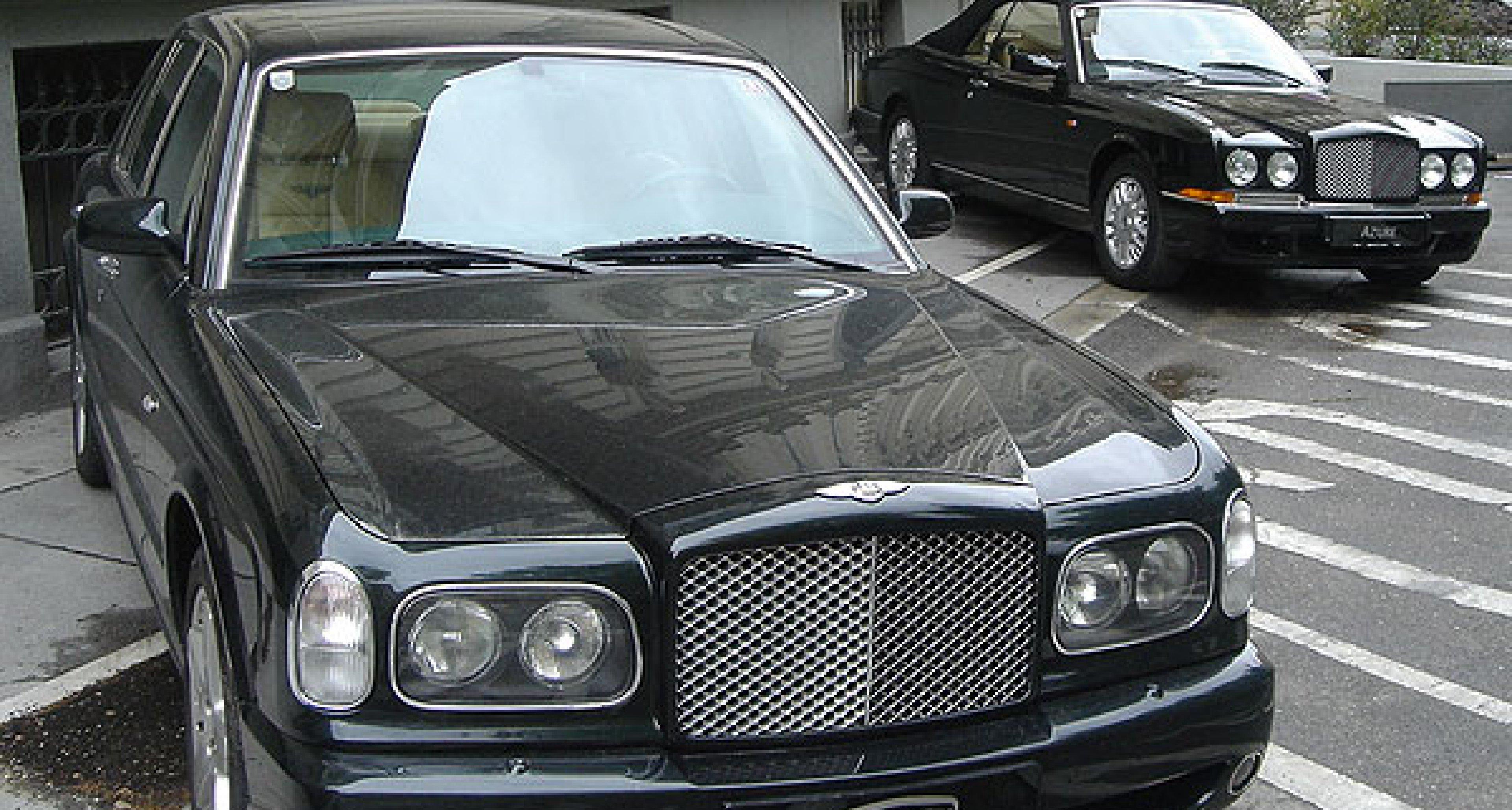 Premiere des neuen Bentley Arnage Serie 2005 und des Continental GT