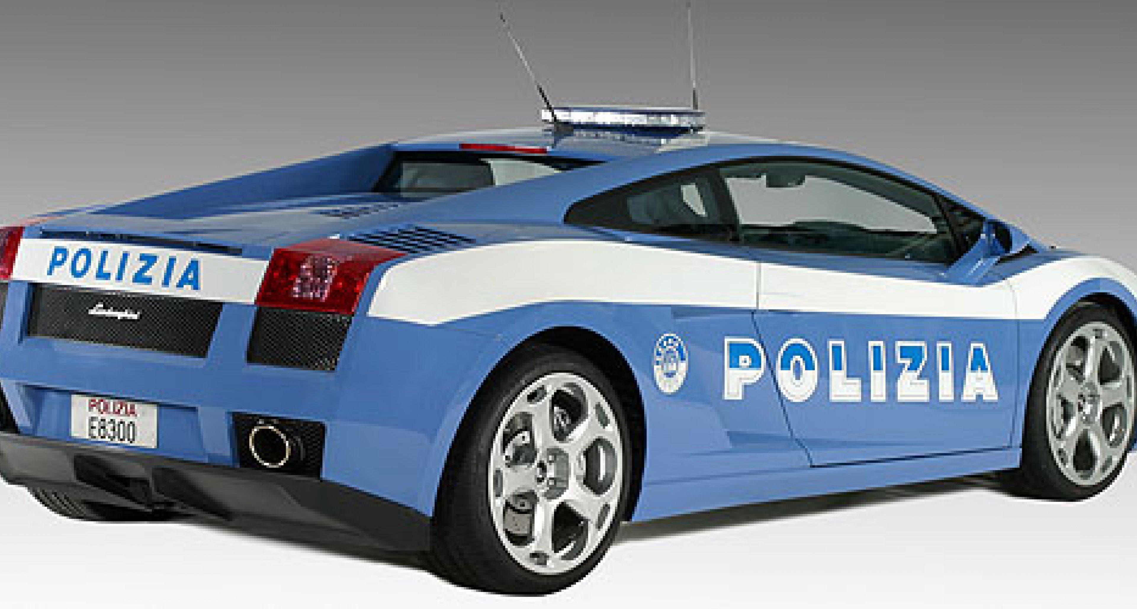 Lamborghini schenkt Polizia di Stato einen Gallardo