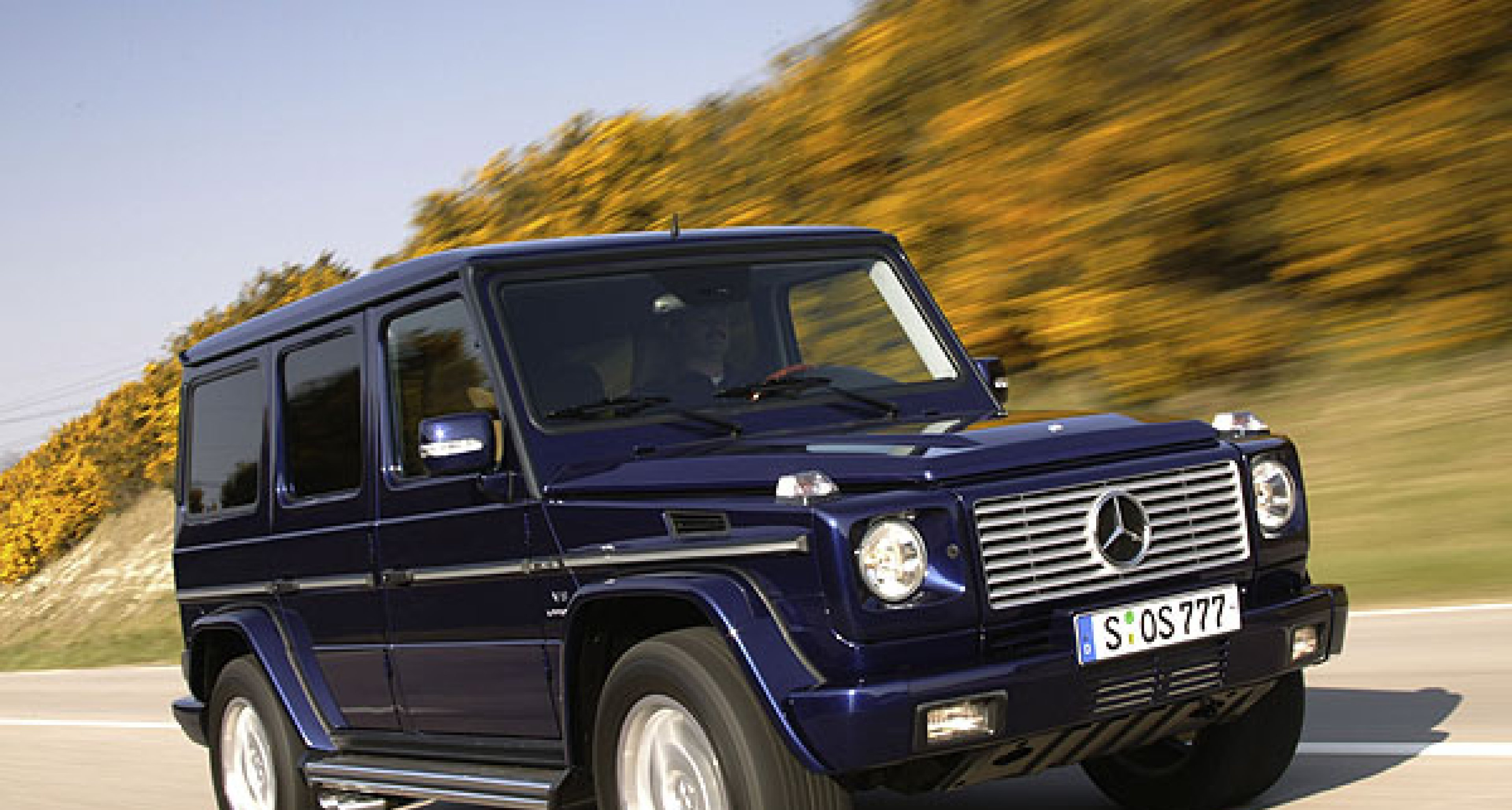25 years of the Mercedes-Benz G-Class