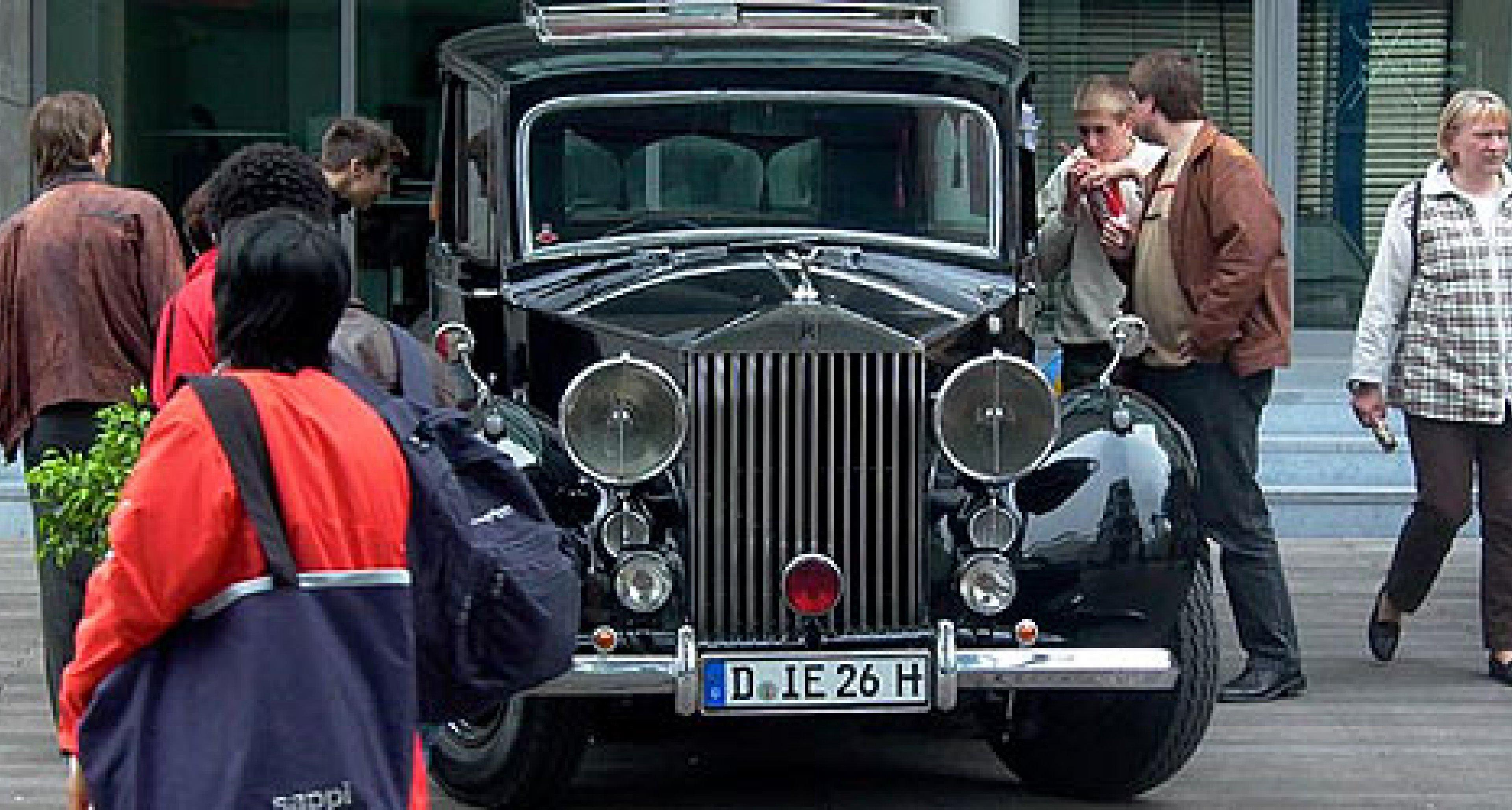 Rhein-Classic 2004: Oldtimerfestival Düsseldorf