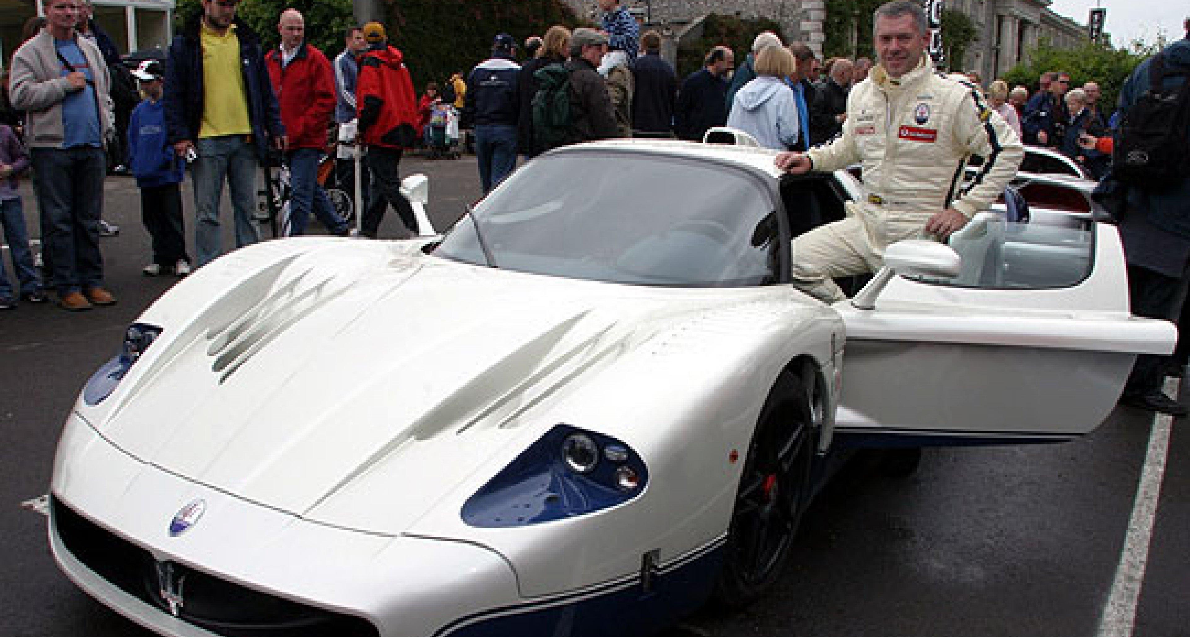 Maserati MC12: Debüt beim Goodwood Festivel of Speed 2004