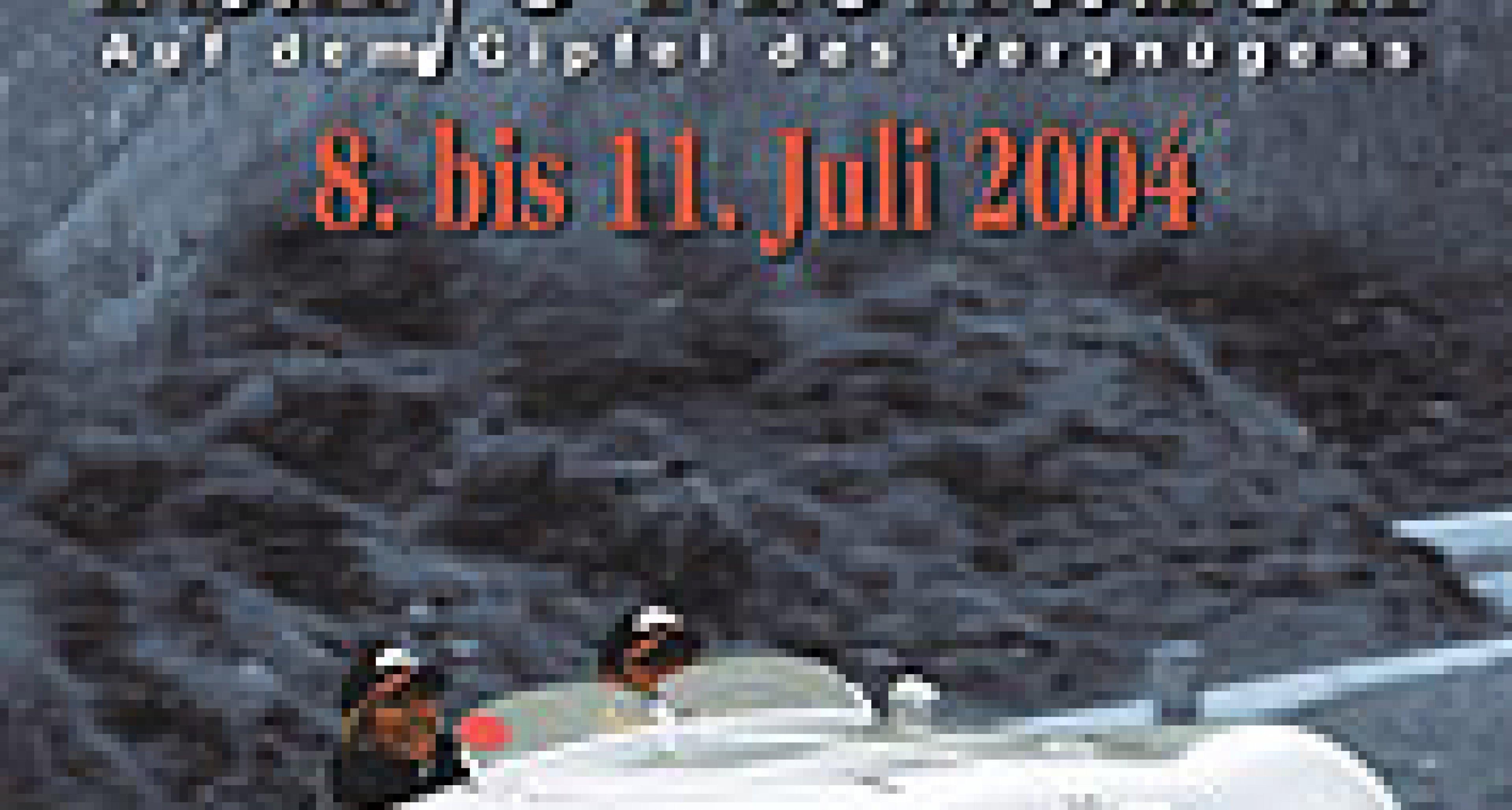 Silvretta Classic Rallye Montafon 2004 –  vom 8. bis 11. Juli