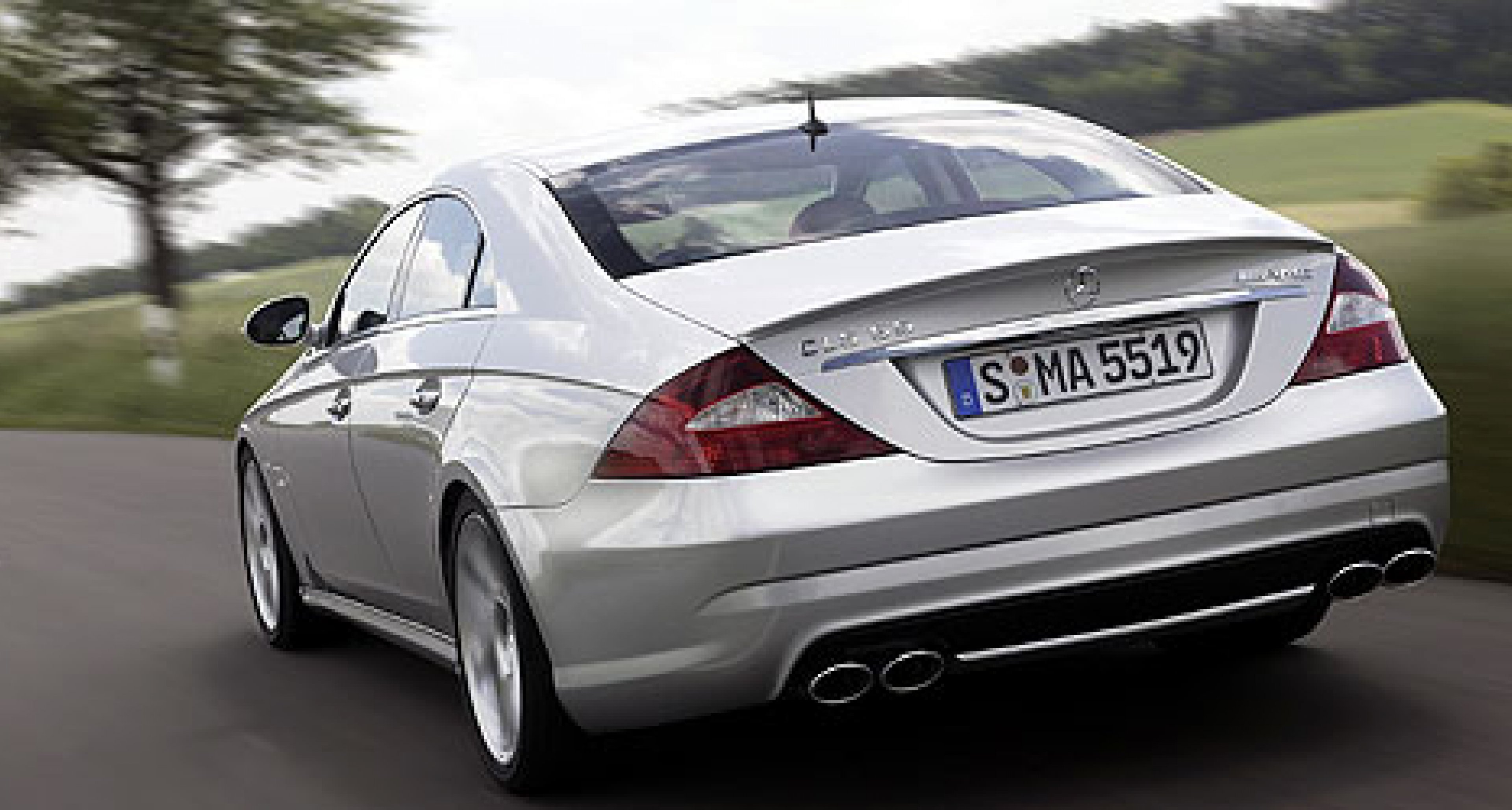 The new Mercedes-Benz CLS 55 AMG