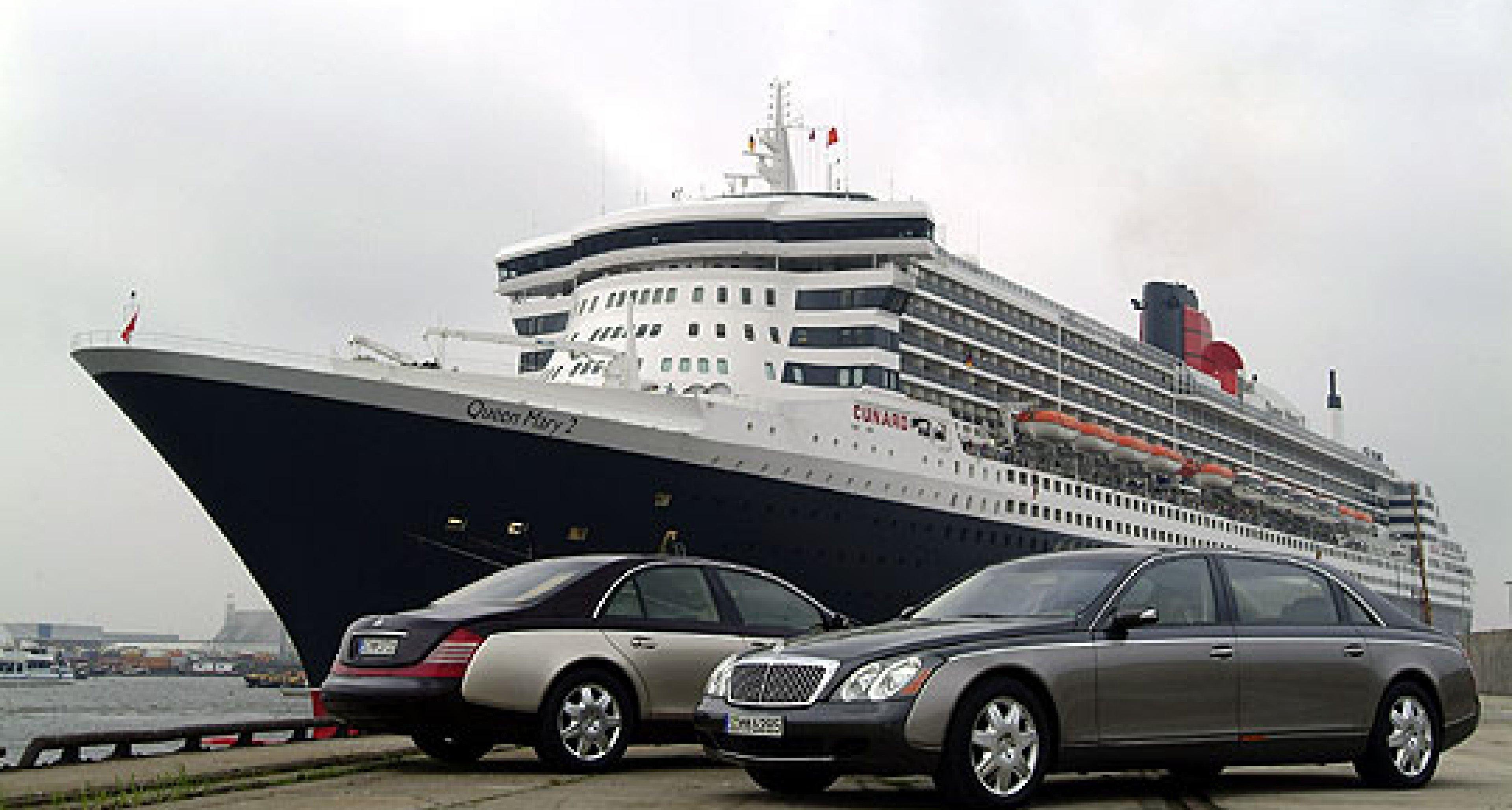 Maybach unterstützt Deutschlandbesuch der Queen Mary 2